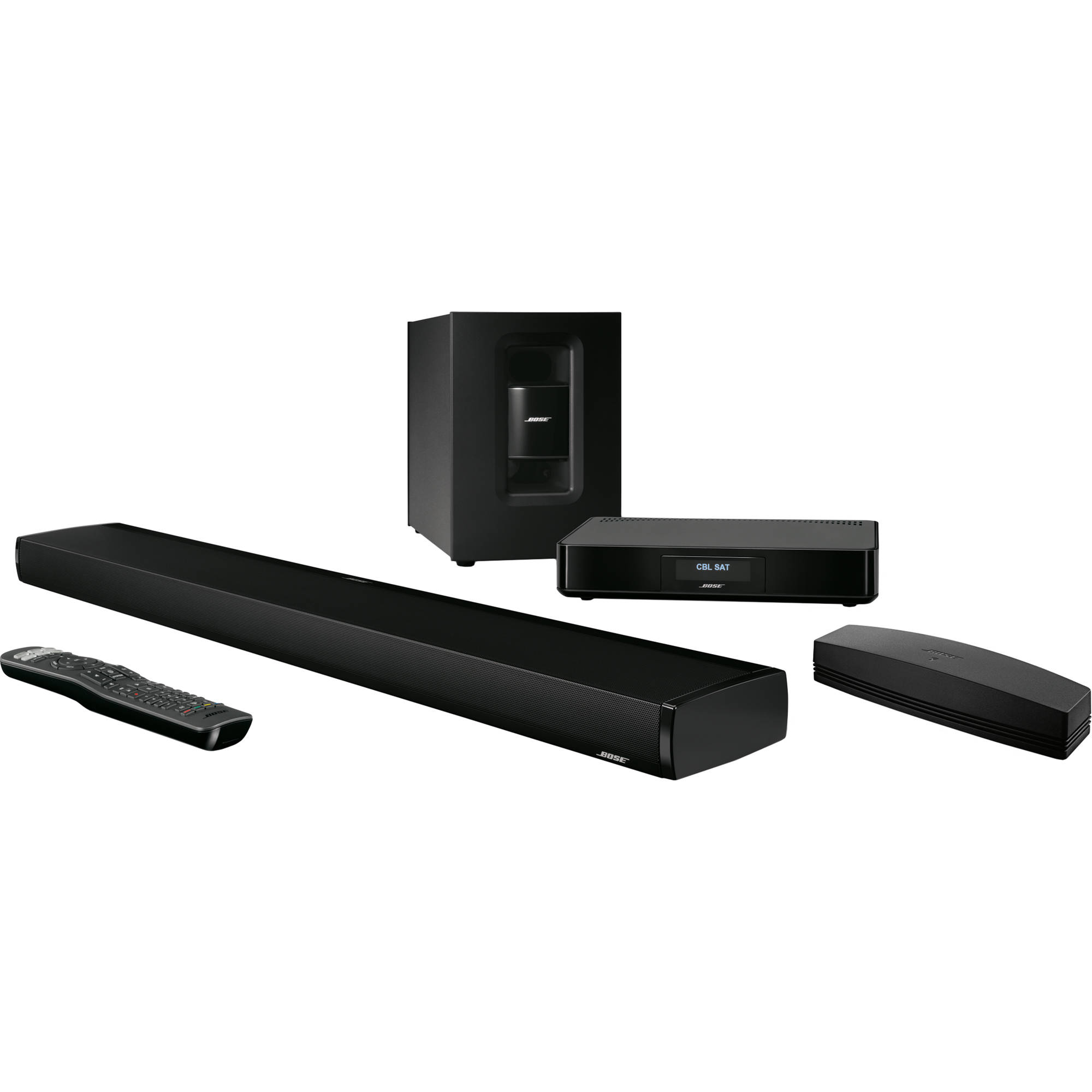 bose soundtouch 130 home theater system black 738484 1100 b h. Black Bedroom Furniture Sets. Home Design Ideas