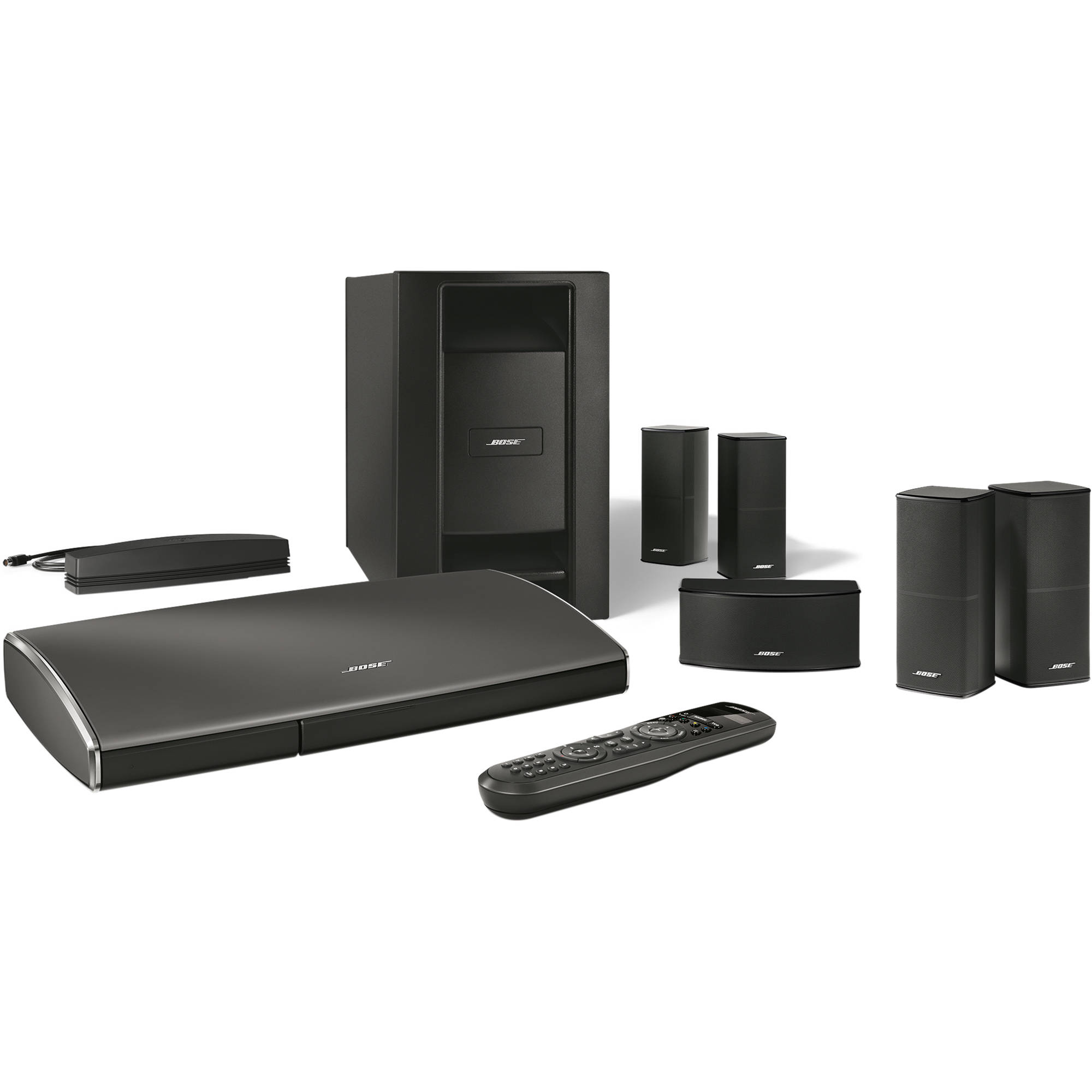 bose lifestyle soundtouch 535 entertainment system 738516 1100. Black Bedroom Furniture Sets. Home Design Ideas