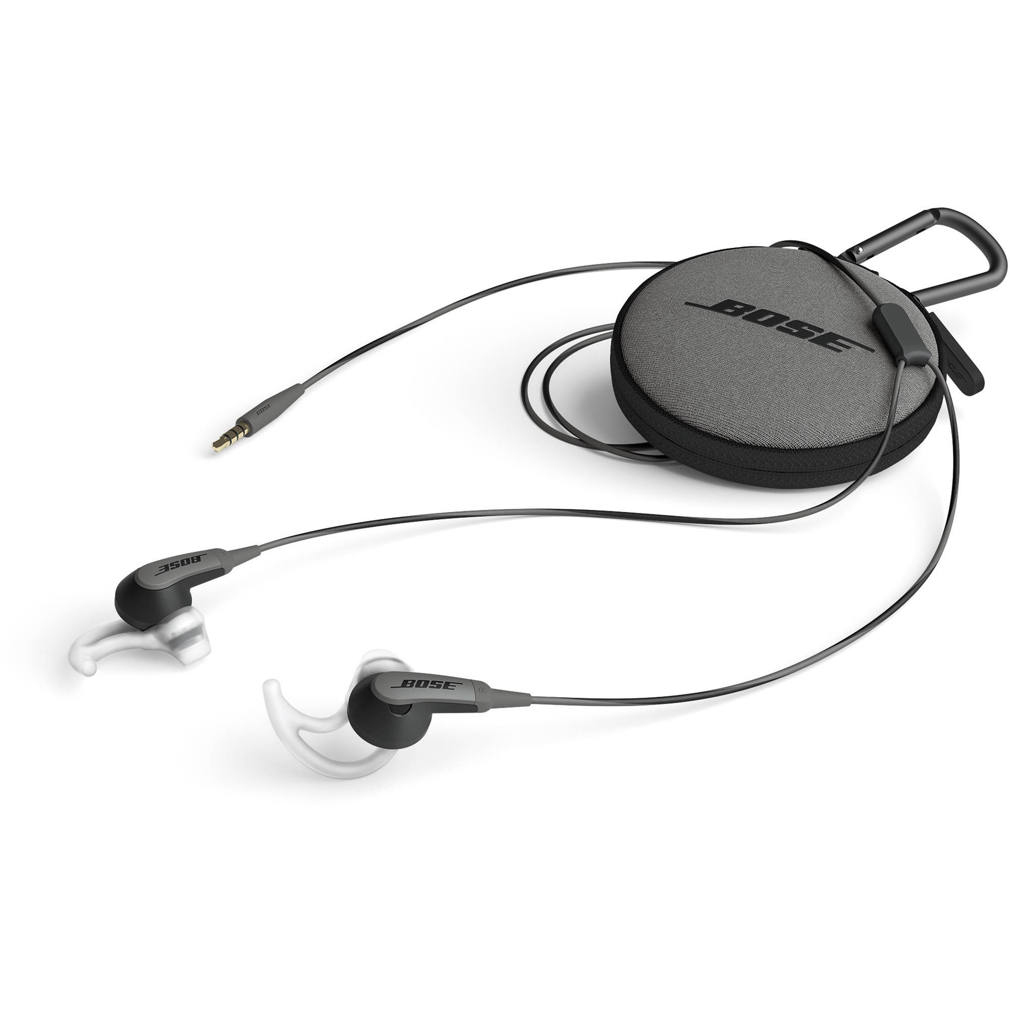 bose in ear headphones white. bose soundsport in-ear headphones-audio only (charcoal black) in ear headphones white
