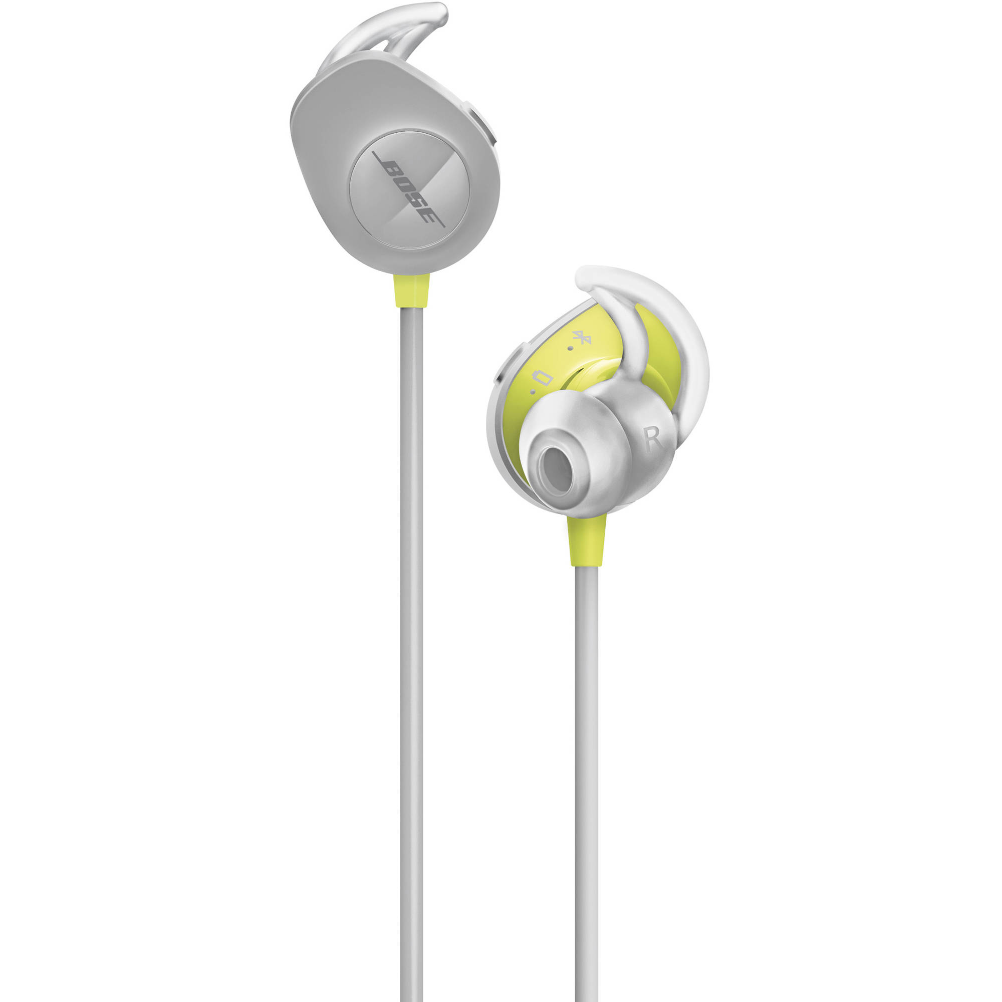 Bose SoundSport Wireless In-Ear Headphones (Citron) 761529 ...