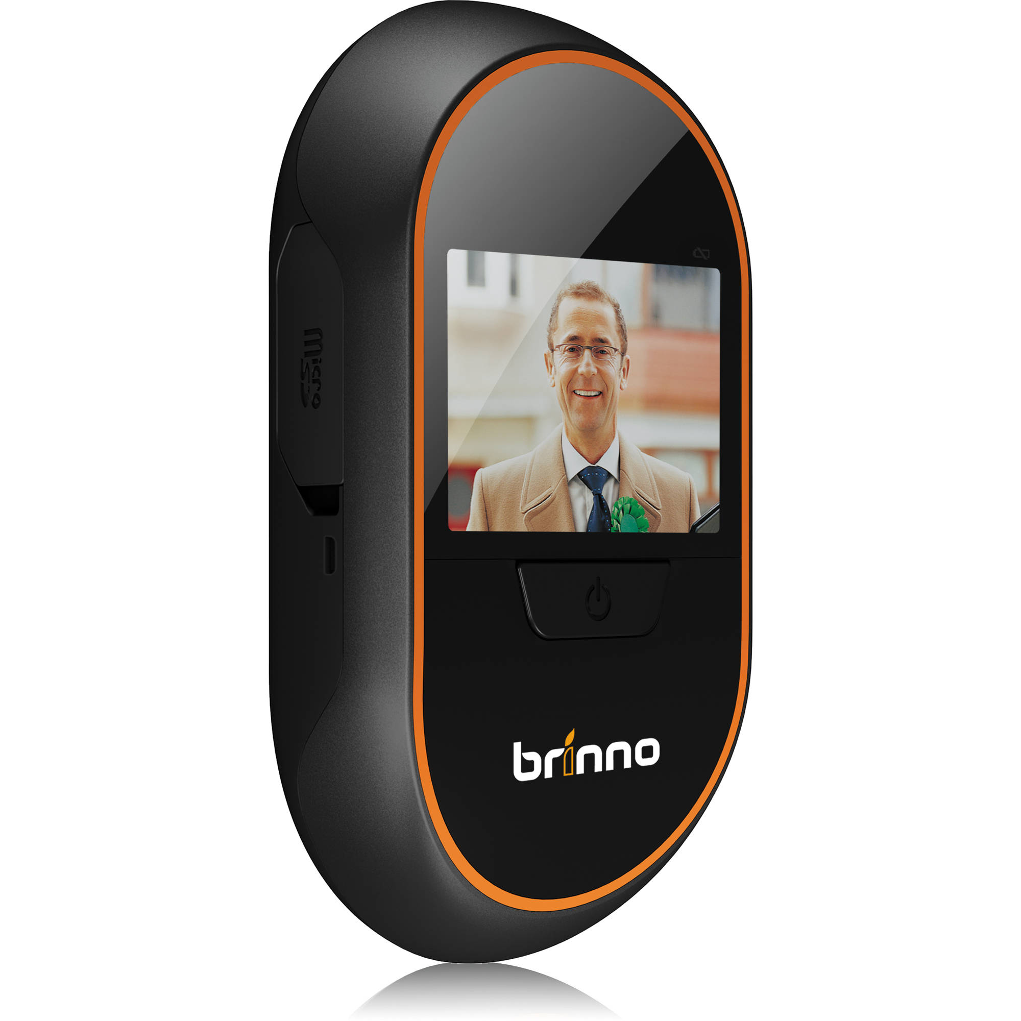 brinno phv mac 1 3mp peephole camera dvr and display phv