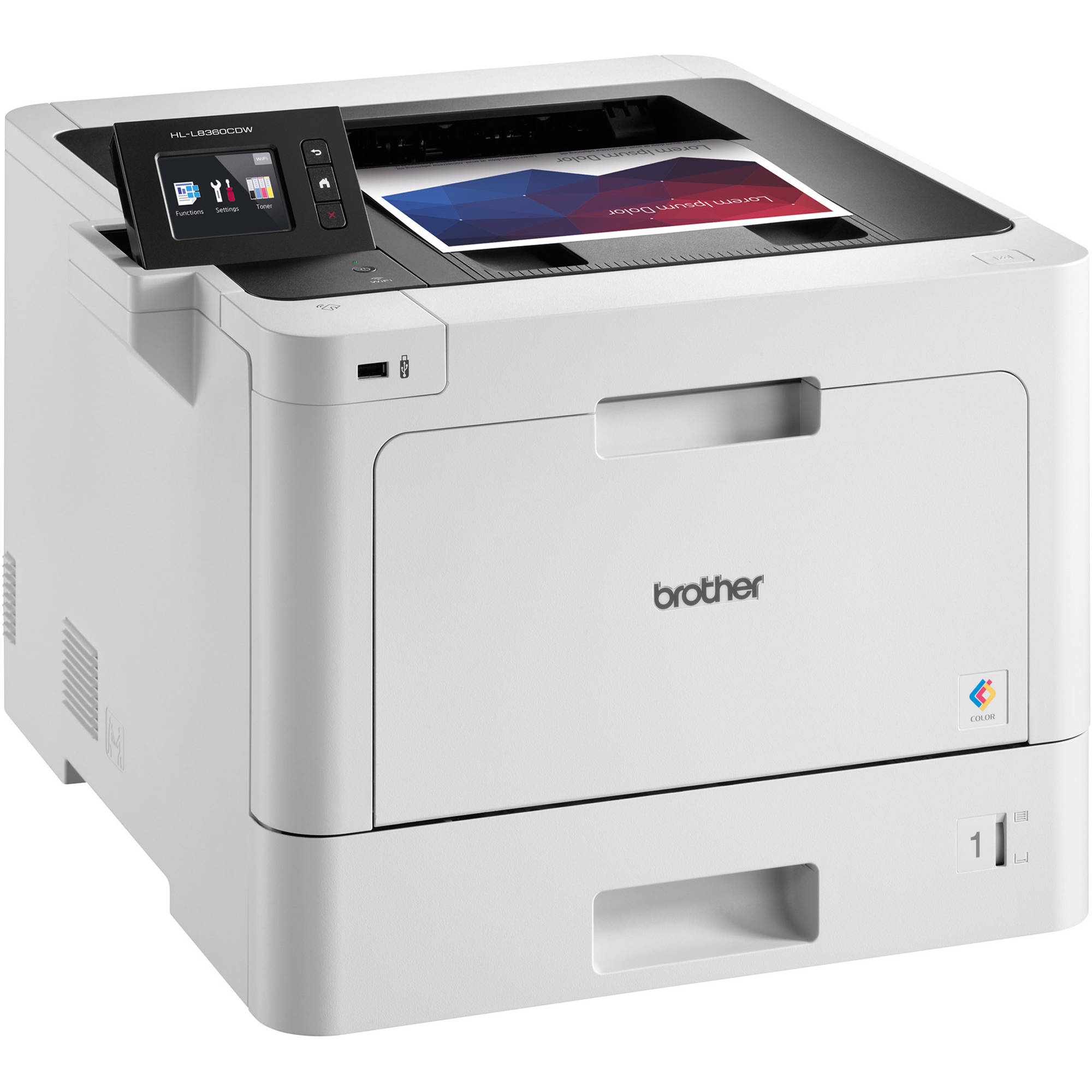 Brother HL L8360CDW Color Laser Printer HL L8360CDW BampH Photo