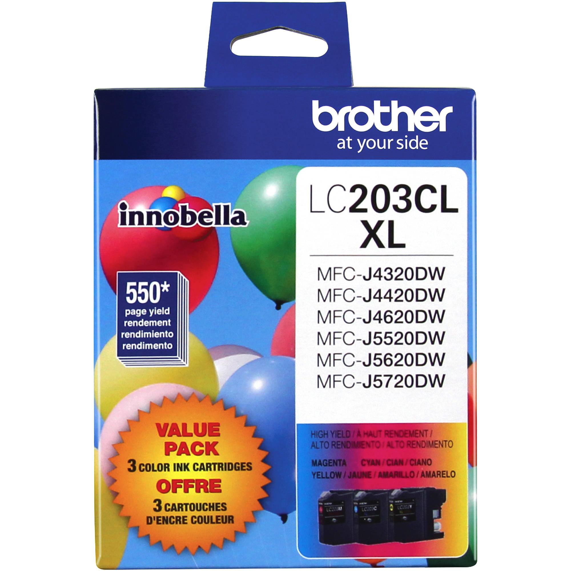MFC-J5620DW MFC-J5720 Printer Ink cartridge for Brother LC-203 MFC-J5520DW