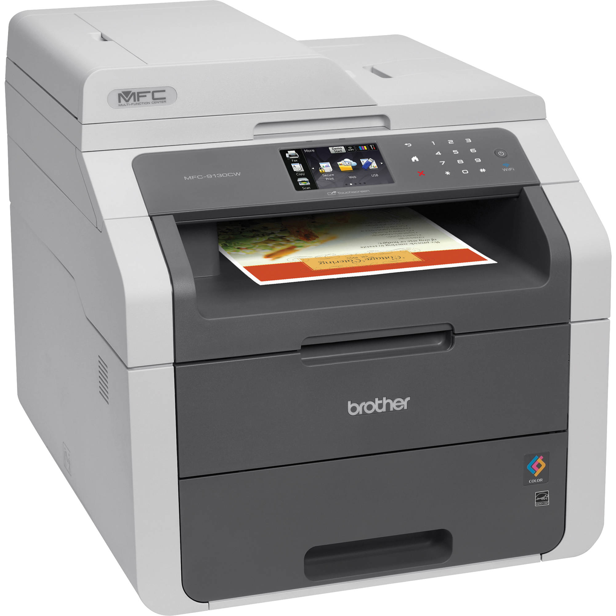 Brother Mfc 9130cw Wireless Color All In One Laser Mfc 9130cw Color Printer
