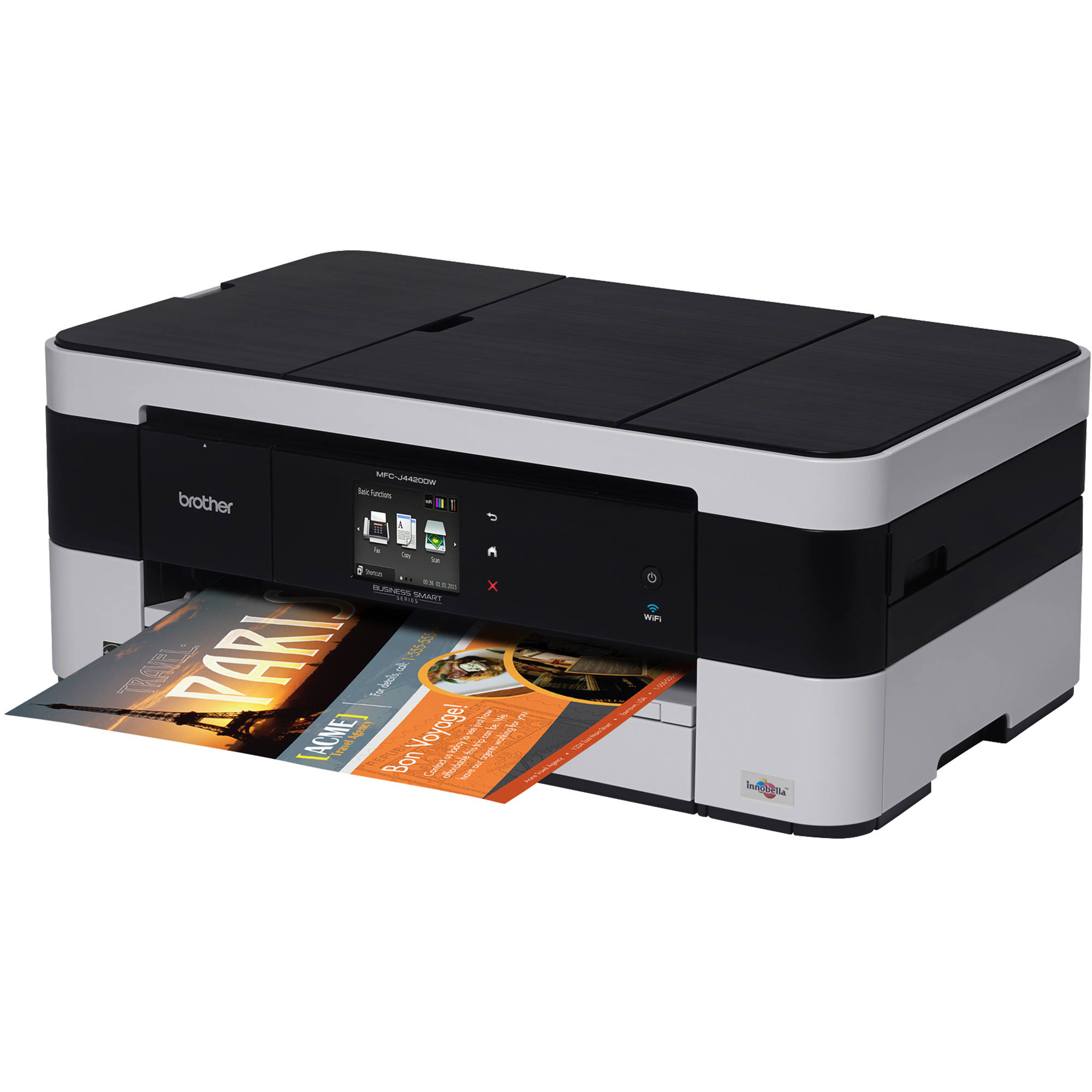 how to cancel printing on brother printer