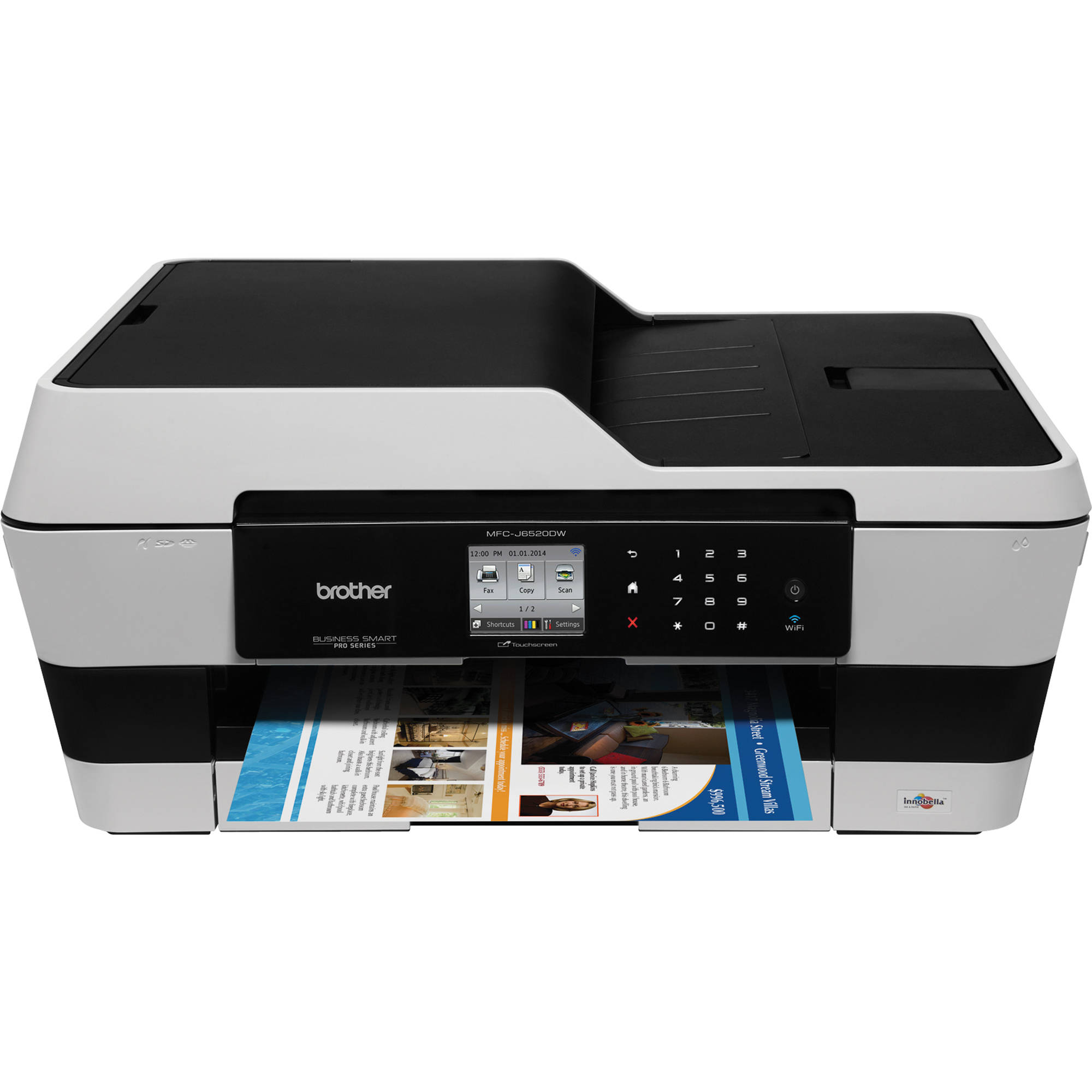 Brother MFC J6520DW Wireless Color All In One Inkjet MFC