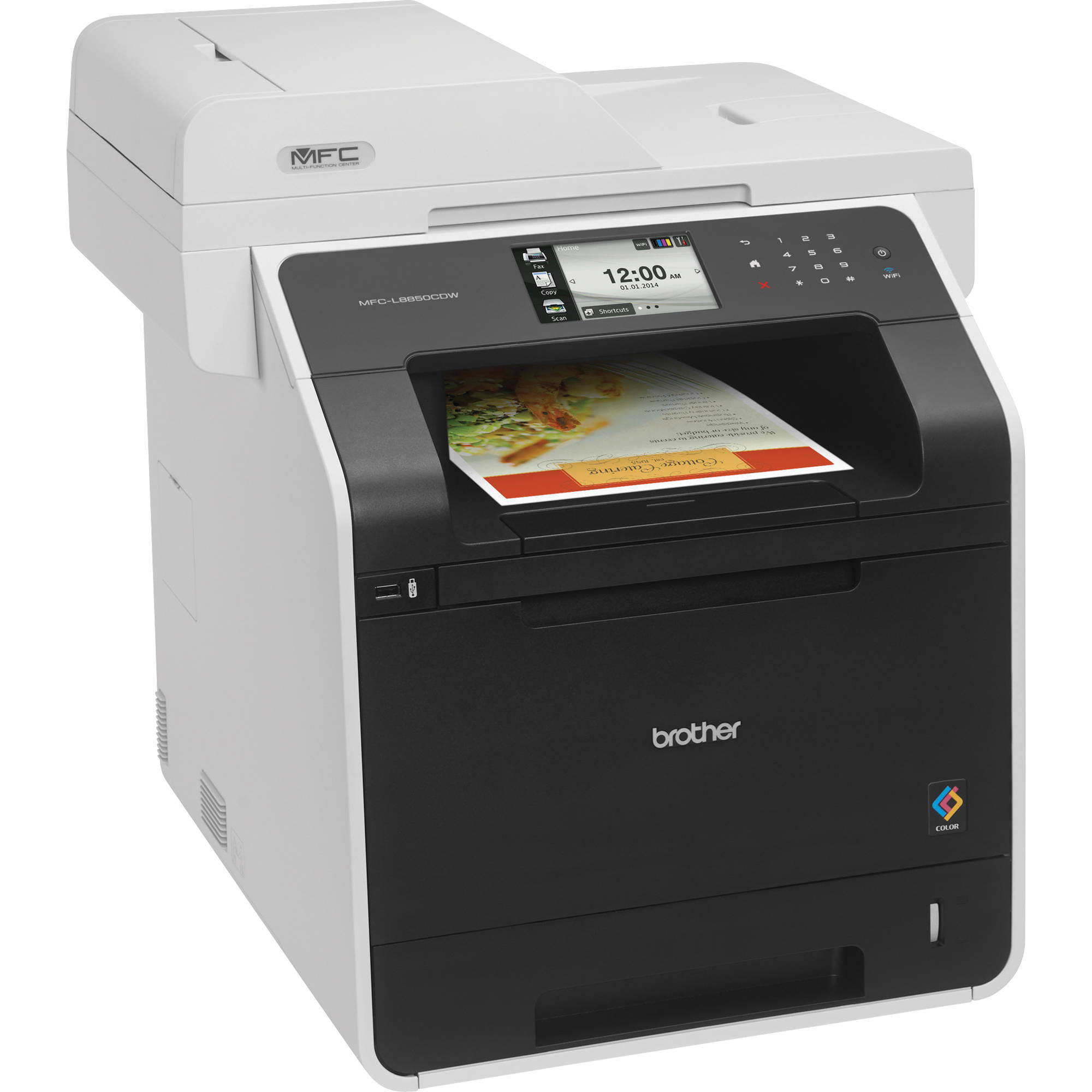 Brother All In One Laser Printer Color