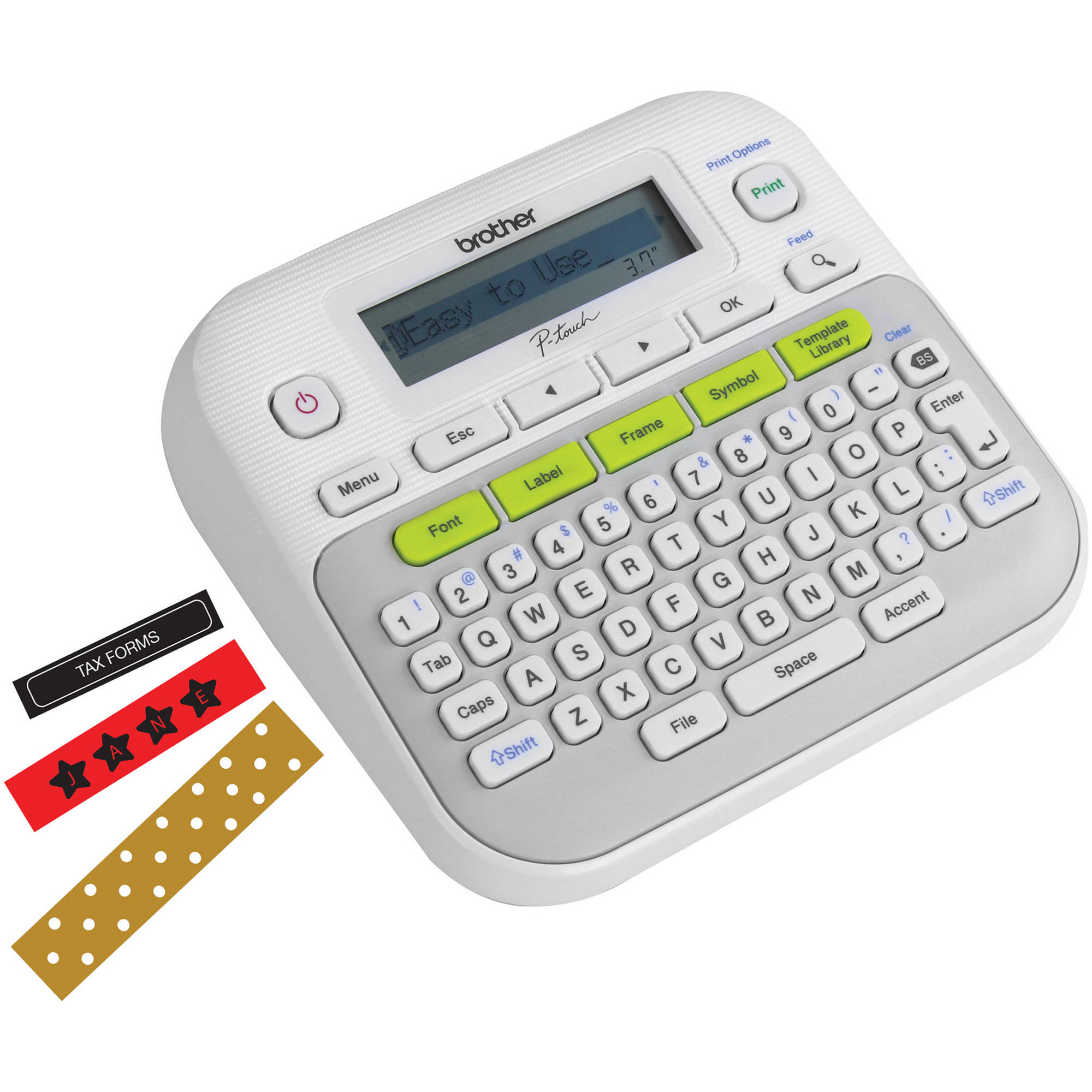 Brother P Touch Pt D210 Label Maker Just 9 99 Reg 39 99: Brother PT-D210 Portable Label Maker PT-D210 B&H Photo Video