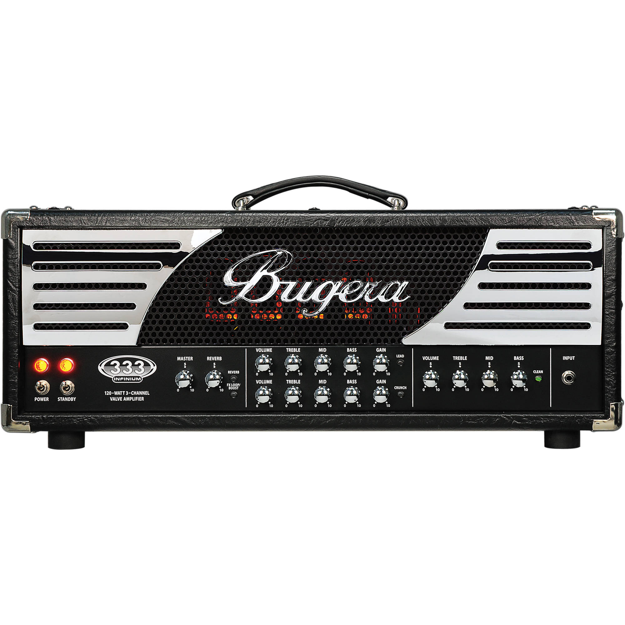 Bugera 333 infinium 120 watt tube amplifier head 333 infinium