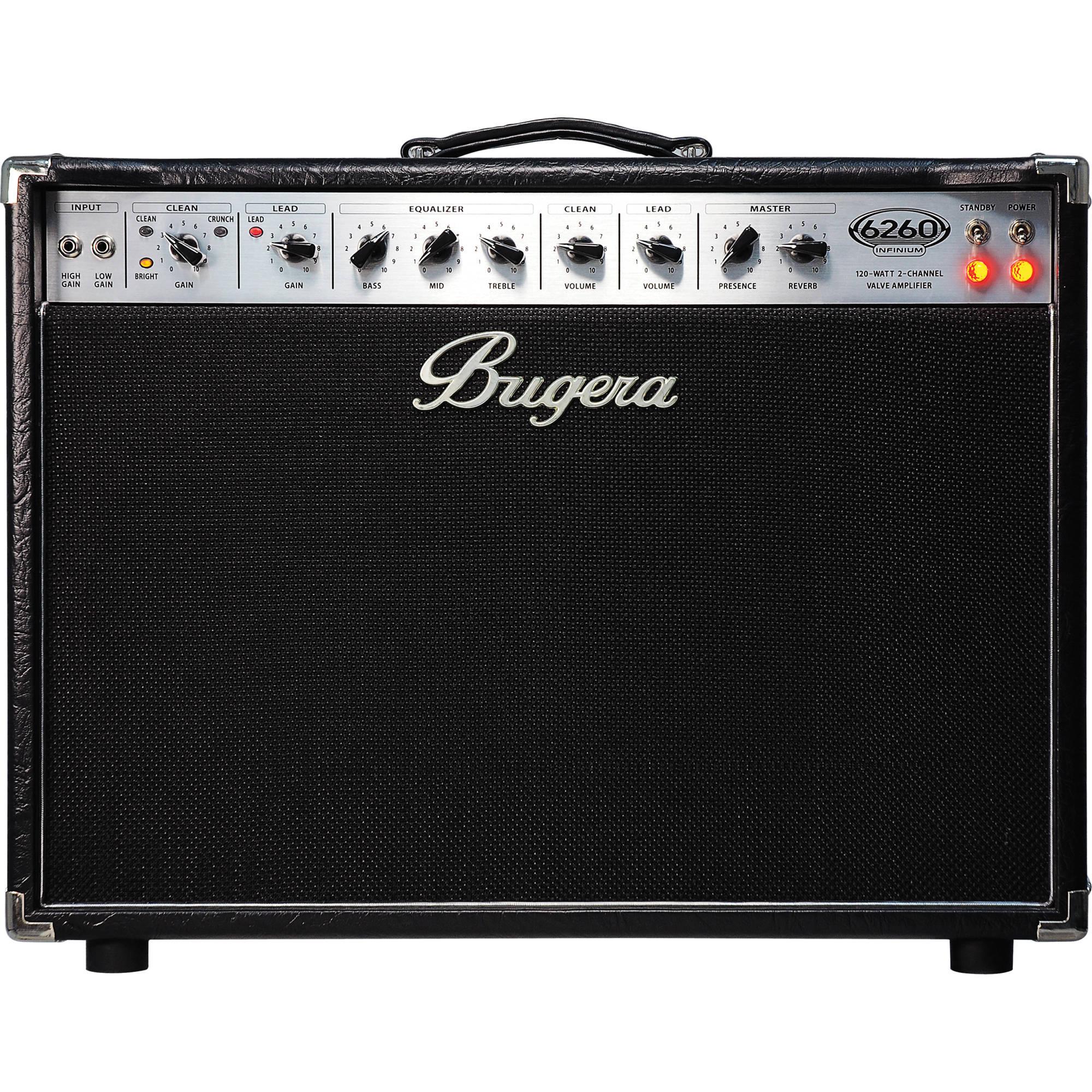 bugera 6260 212 infinium tube combo guitar 6260212infinium b h