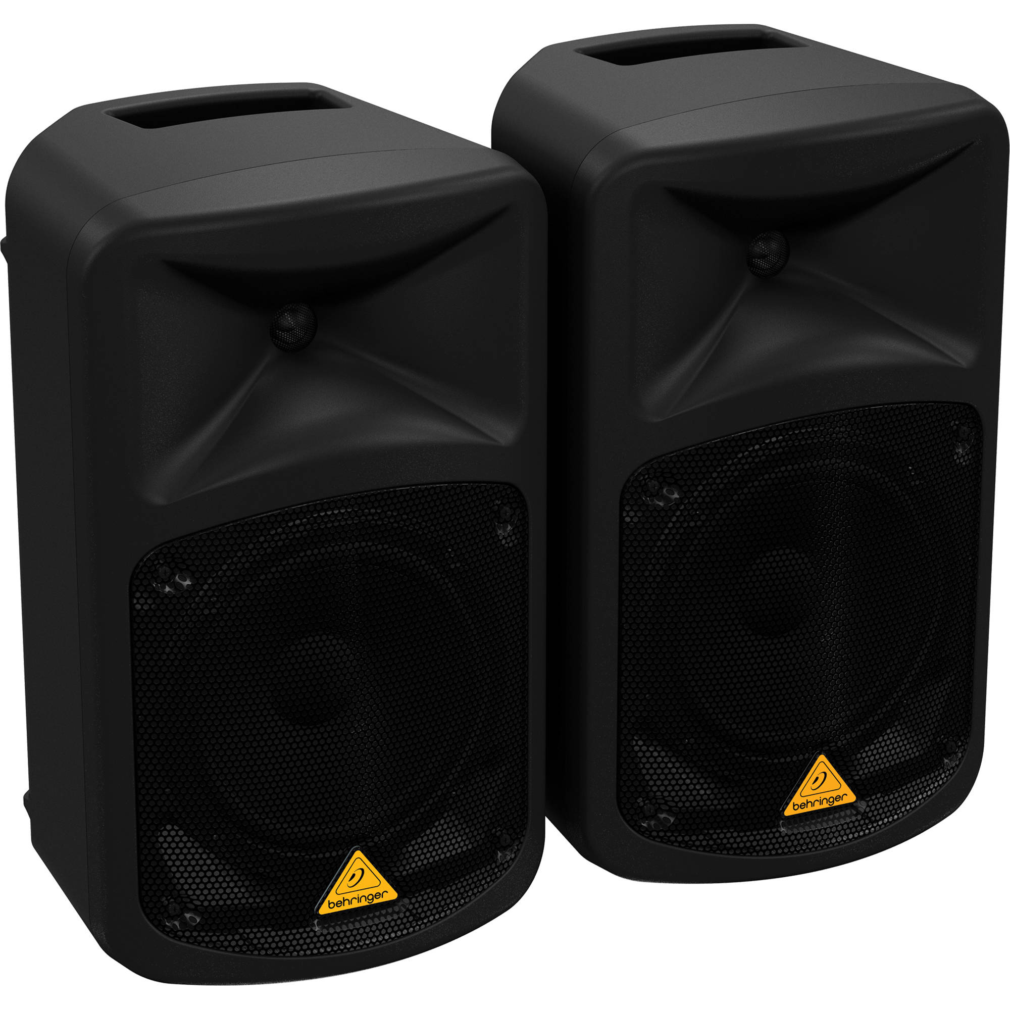 Behringer Europort Eps500mp3 500w 8 Channel Portable Audio Xlr Wiring Multiple Speakers Pa System