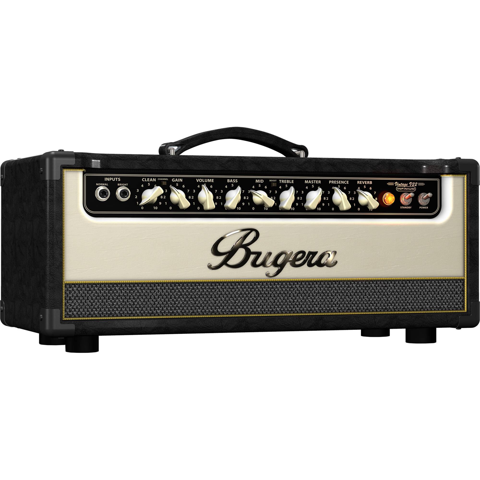 bugera v22hd infinium 22w vintage 2 channel guitar v22hdinfinium. Black Bedroom Furniture Sets. Home Design Ideas