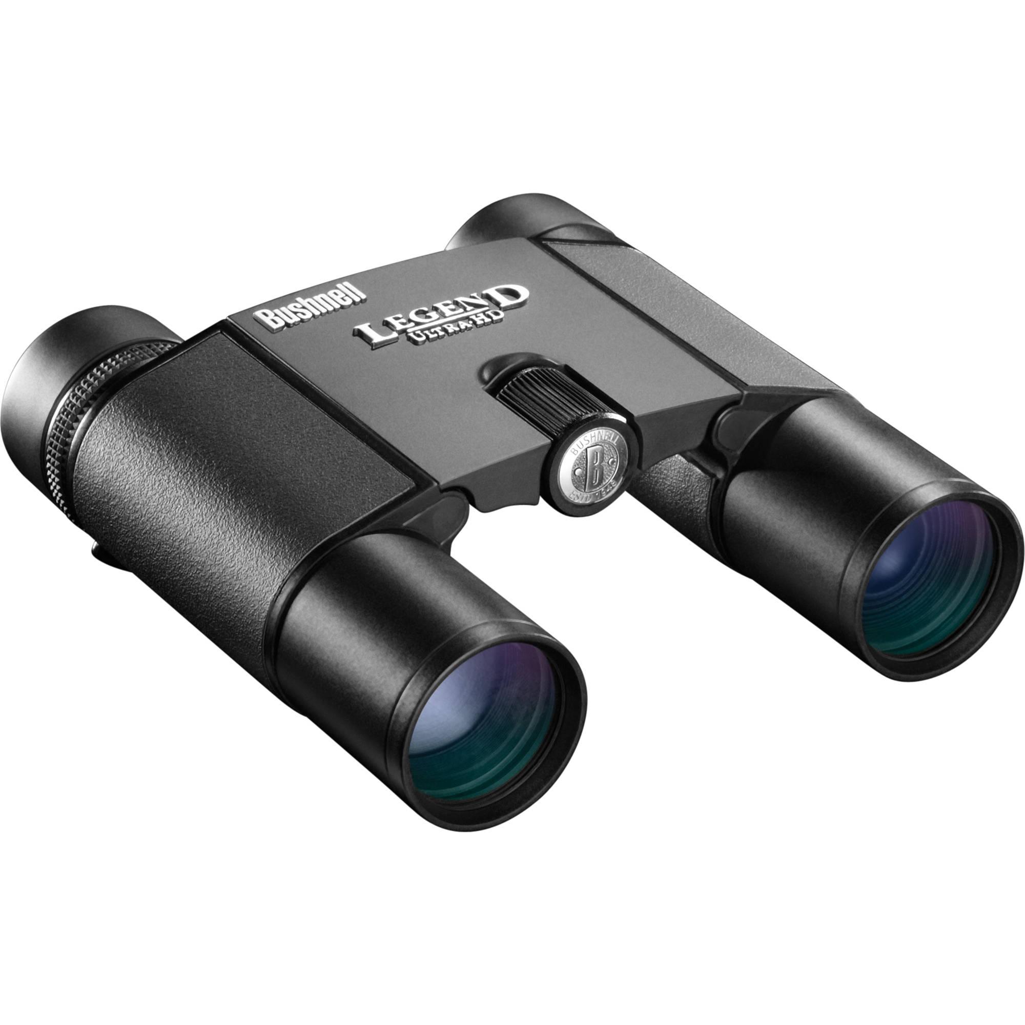 Bushnell Legend Ultra HD 10x25 Binocular (Black) 190125 B&H