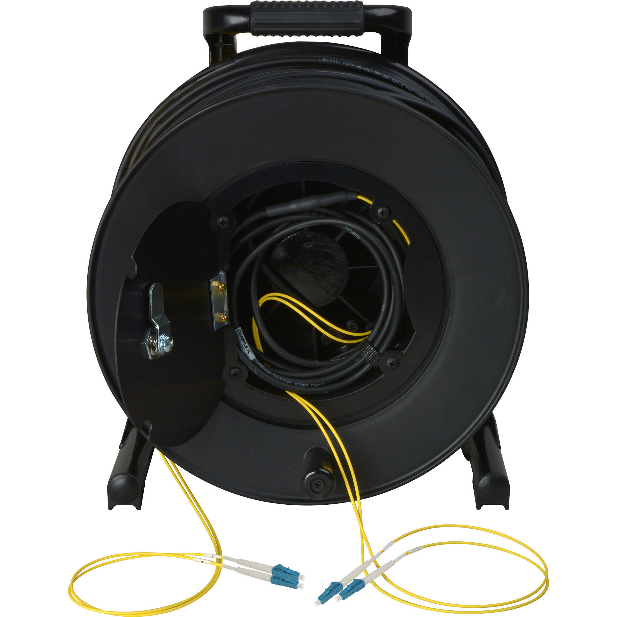 Camplex 2 Channel Fiber Optic Tactical Cable Cmx Tr02lc 0500 Bh Electrical Wiring Channels Reel With Lc Connectors 500