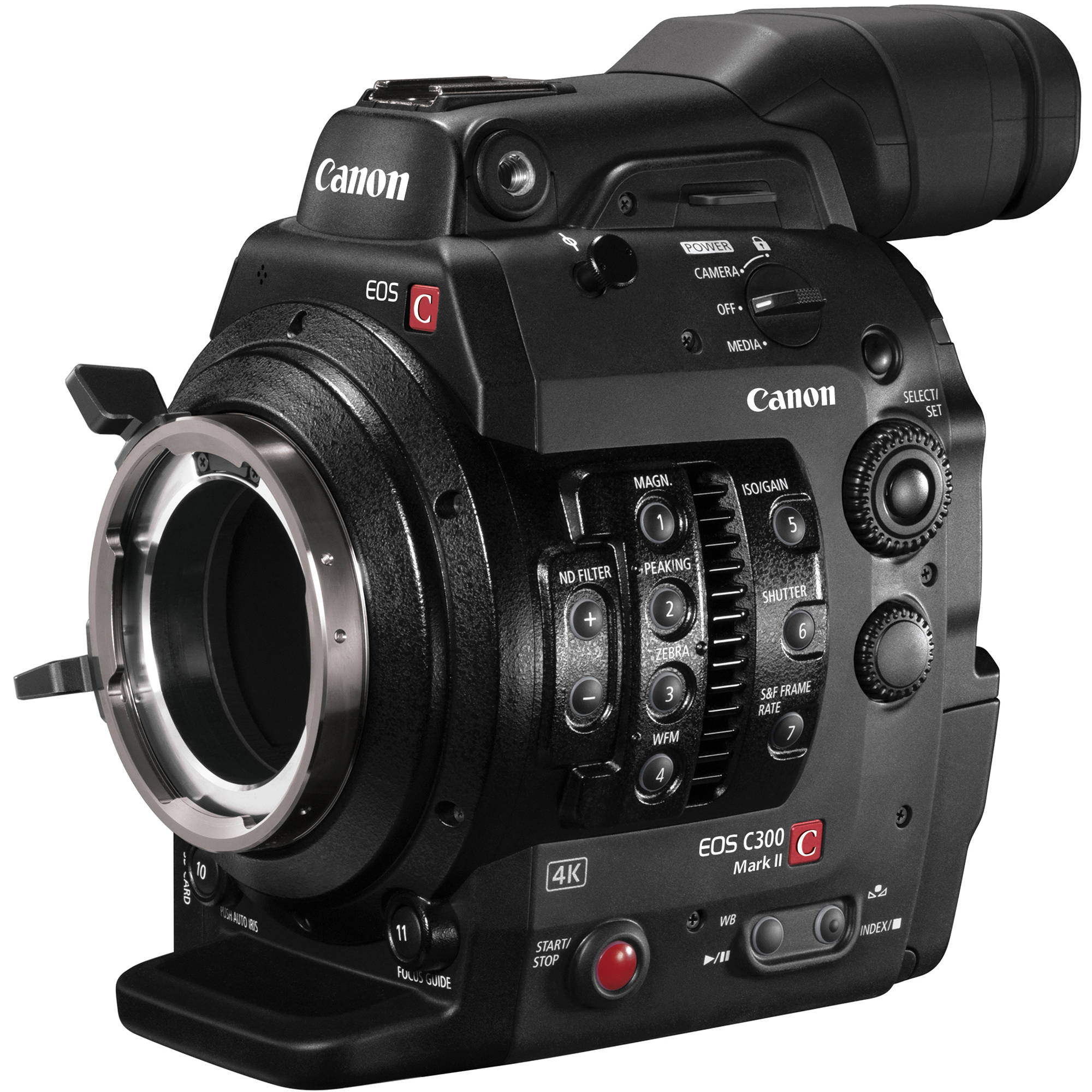 Pl Pl: Canon C300 Mark II Cinema EOS Camcorder With Dual Pixel