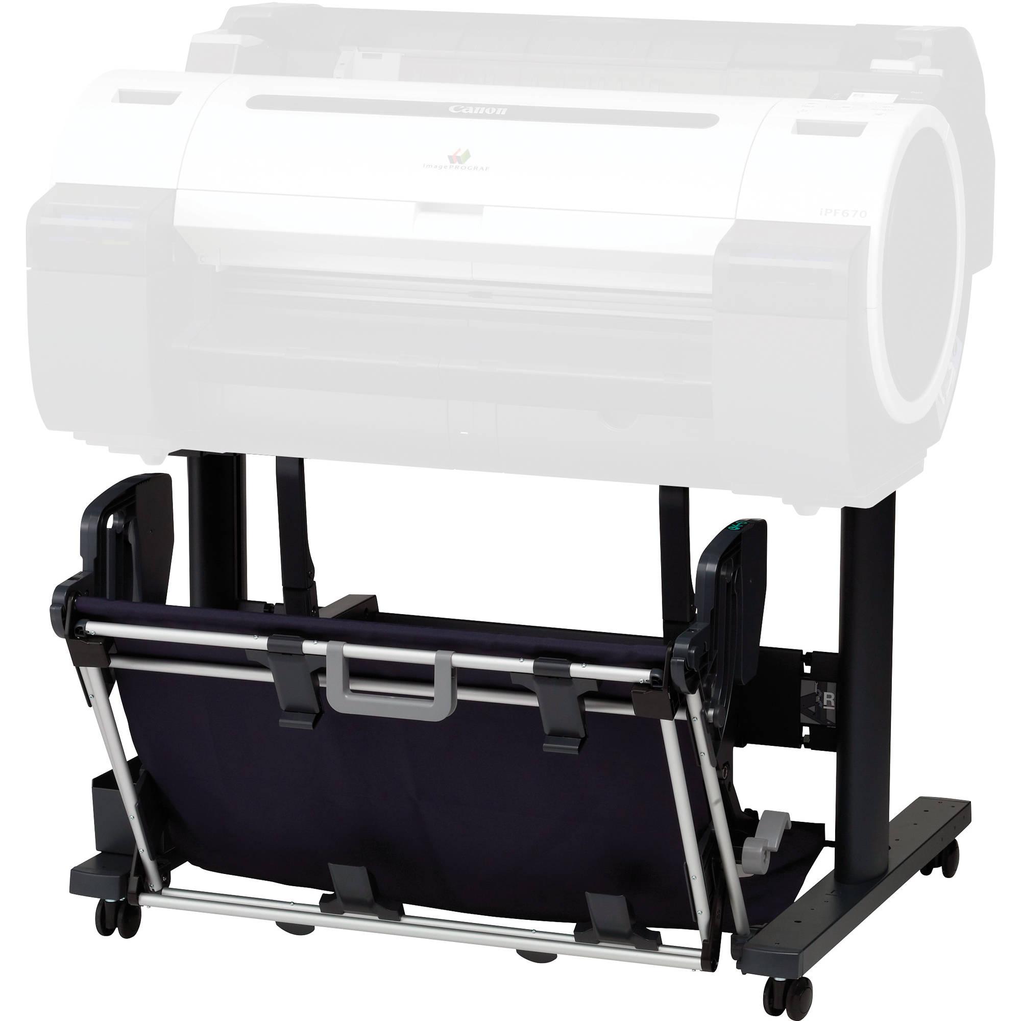 canon st26 printer stand for ipf670 printer