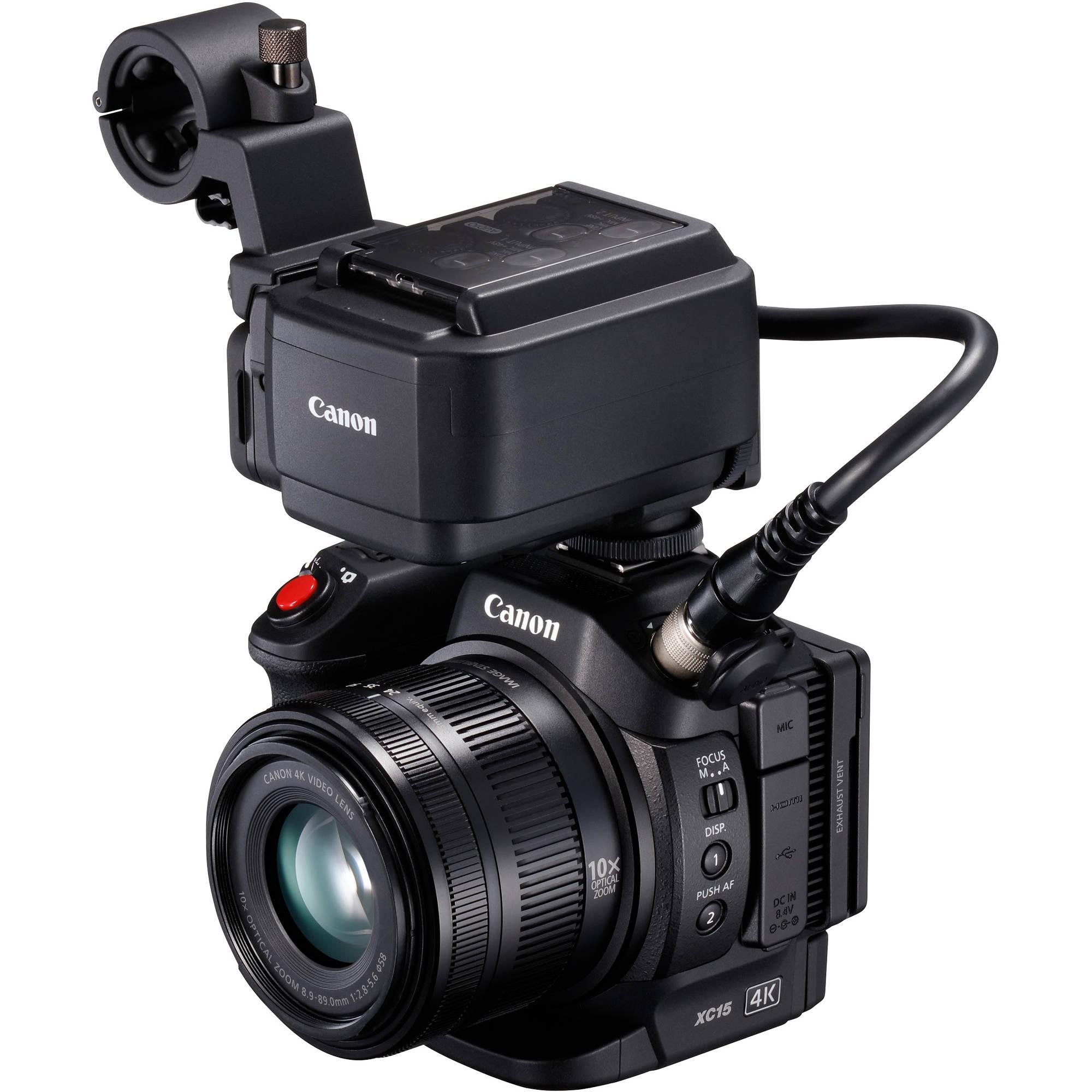 Canon XC15 4K Professional Camcorder 1456C002 B&H Photo Video