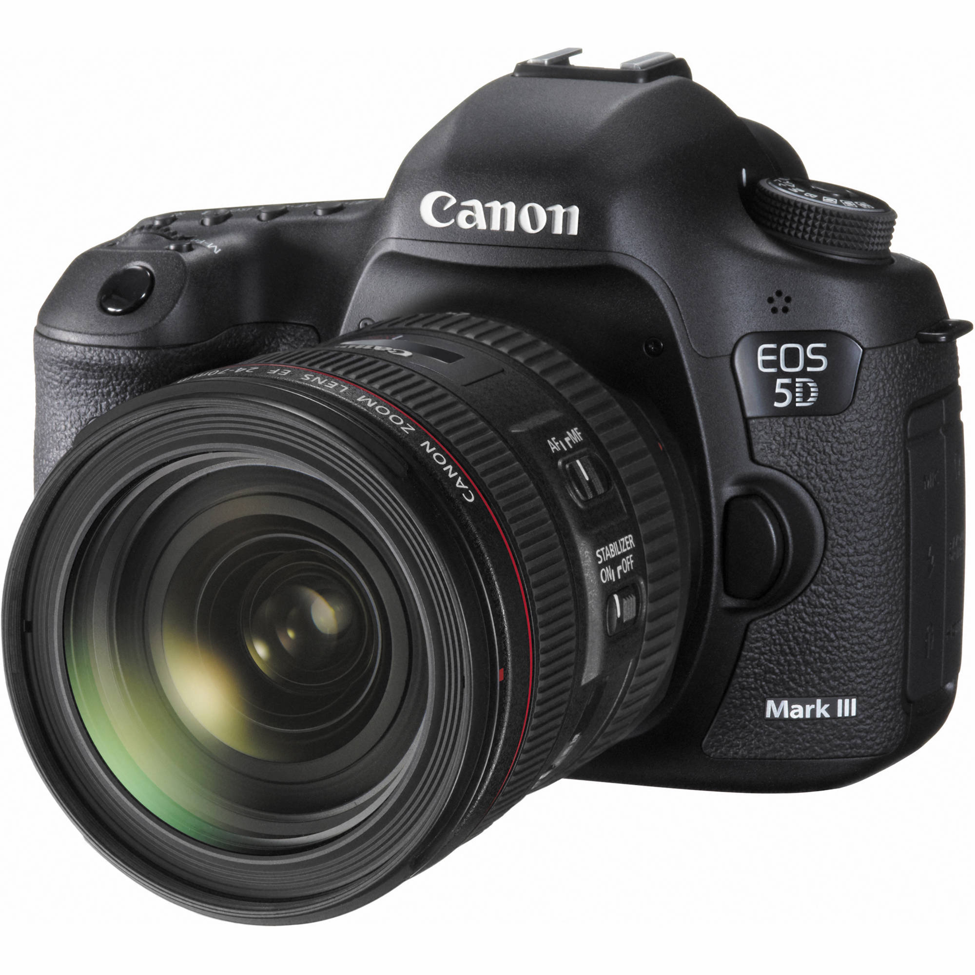 canon eos 5d mark iii dslr camera with 24 70mm lens