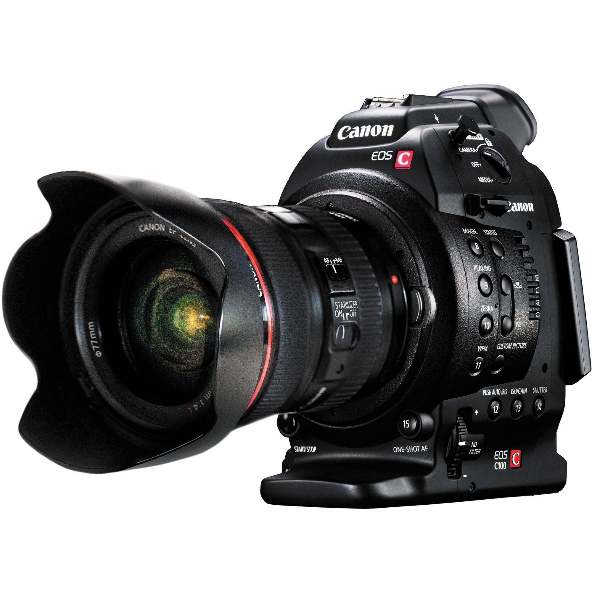Canon EOS C100 Cinema EOS Camera With Dual Pixel CMOS 7428B010