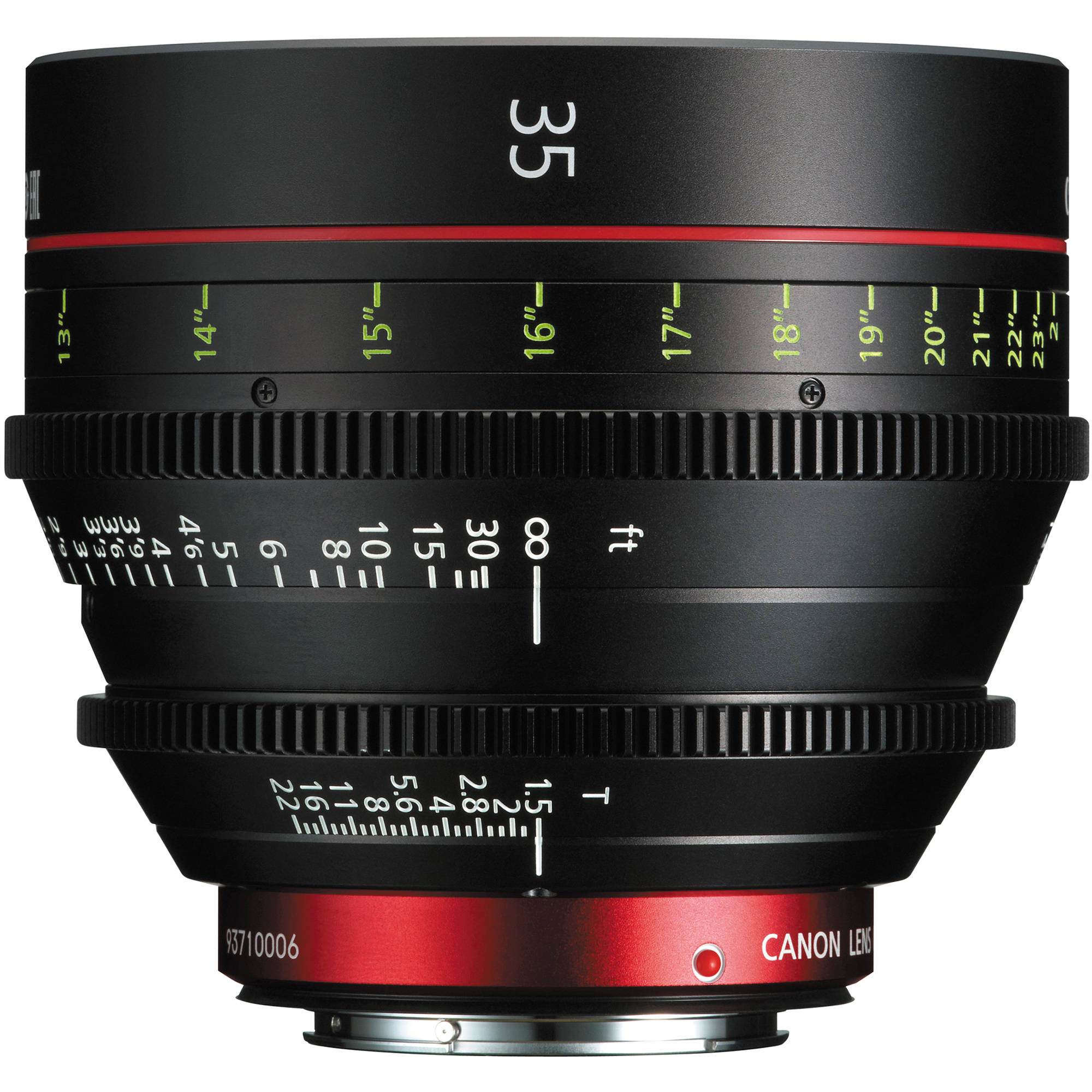 Canon Cn E 35mm T1 5 L F Cinema Prime Lens Ef Mount 9139b001