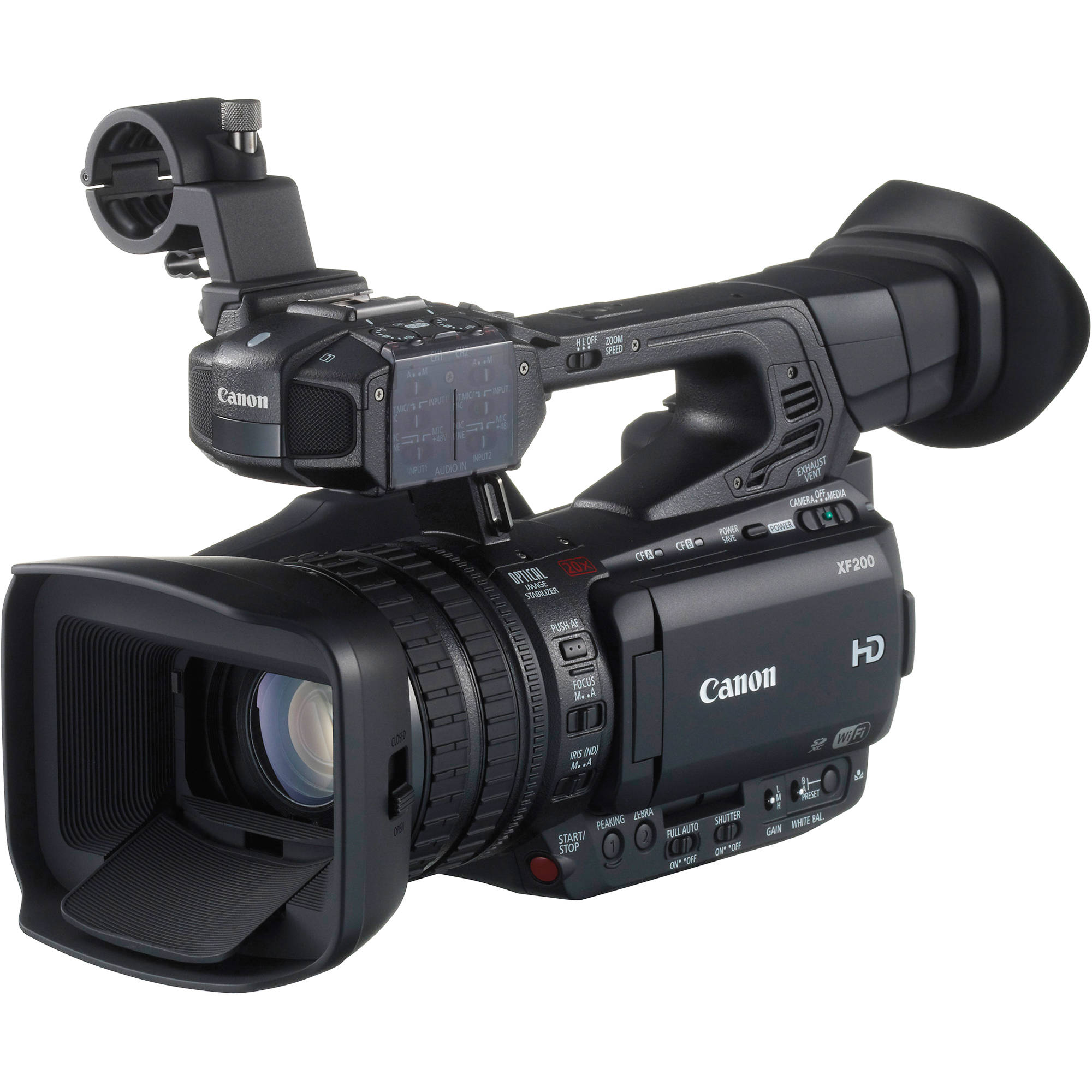Canon XF200 HD Camcorder 9593B002 B&H Photo Video