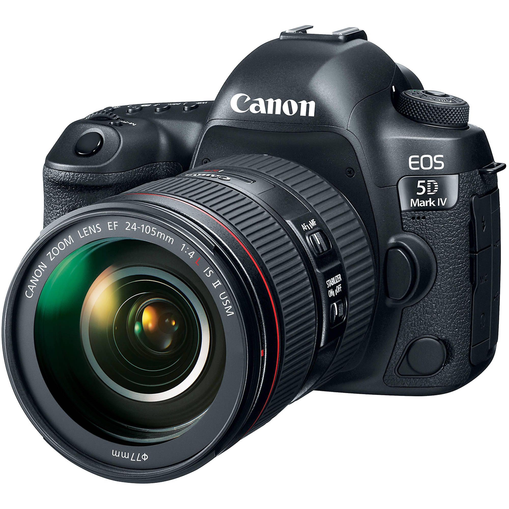 Canon EOS 5D Mark IV DSLR Camera with 24-105mm f/4L II 1483C010
