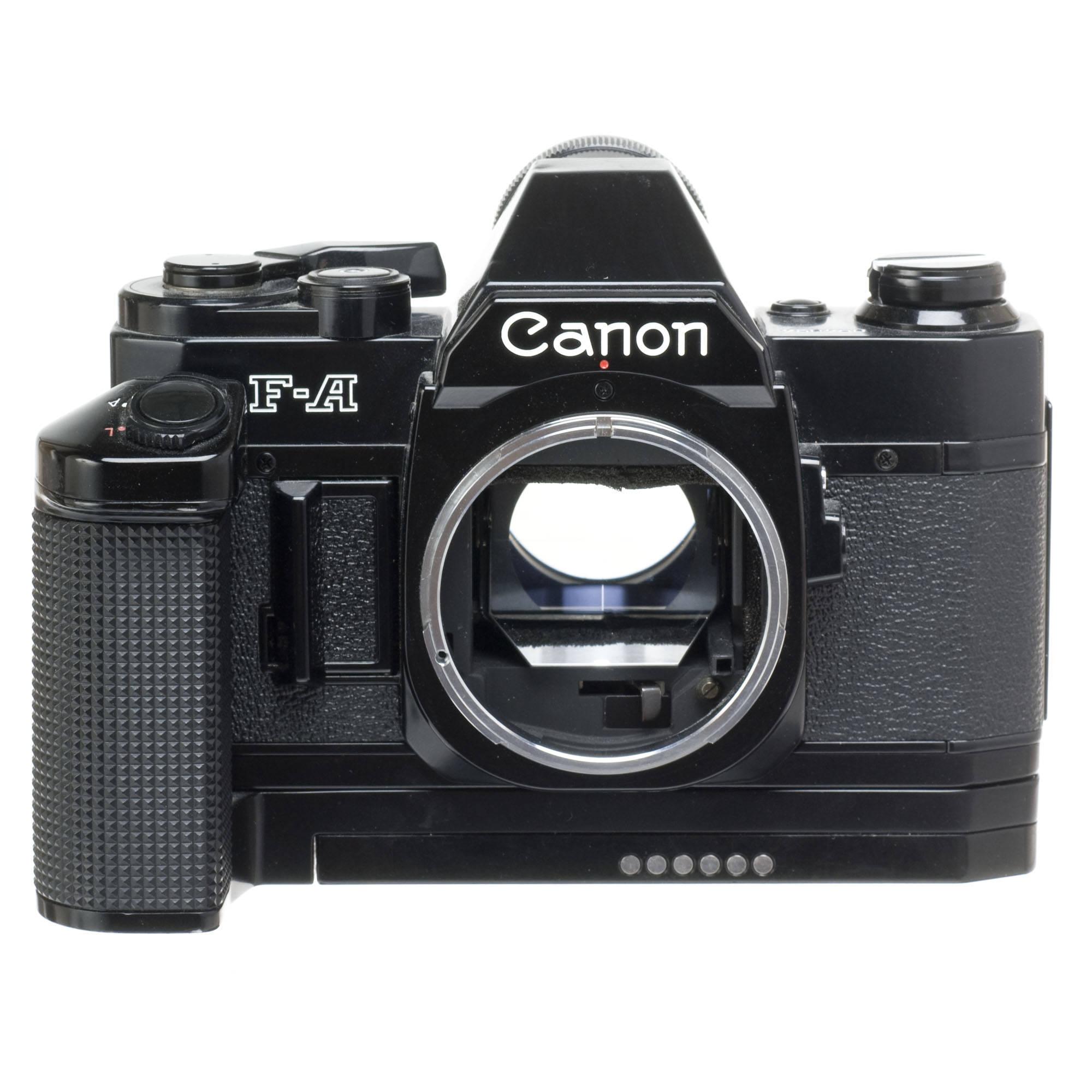 used canon fa 35mm manual focus camera black with motor drive rh bhphotovideo com Canon Speedlite 420EX canon pc 420 copier manual