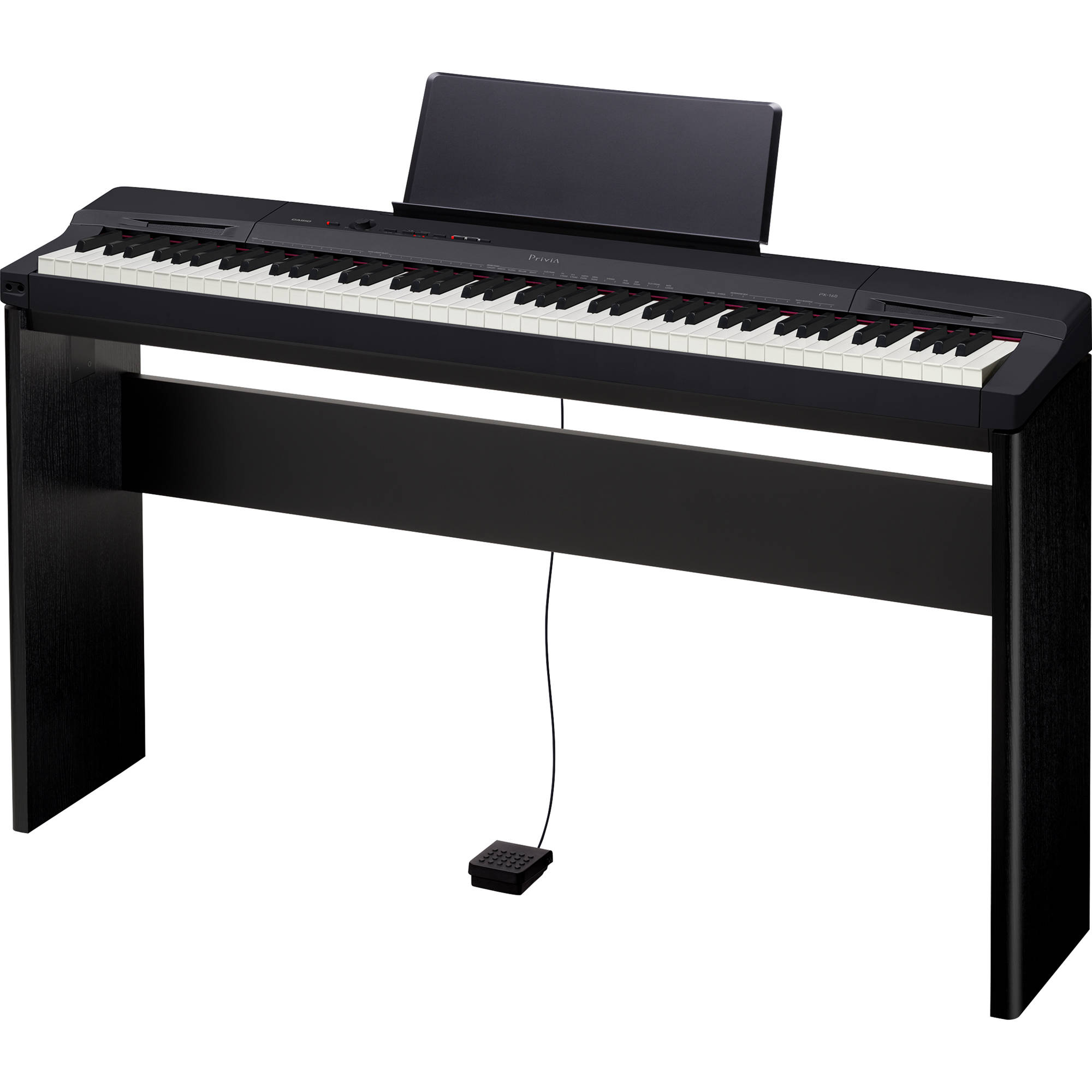 casio px 160 privia 88 key digital piano with matching px160csu. Black Bedroom Furniture Sets. Home Design Ideas