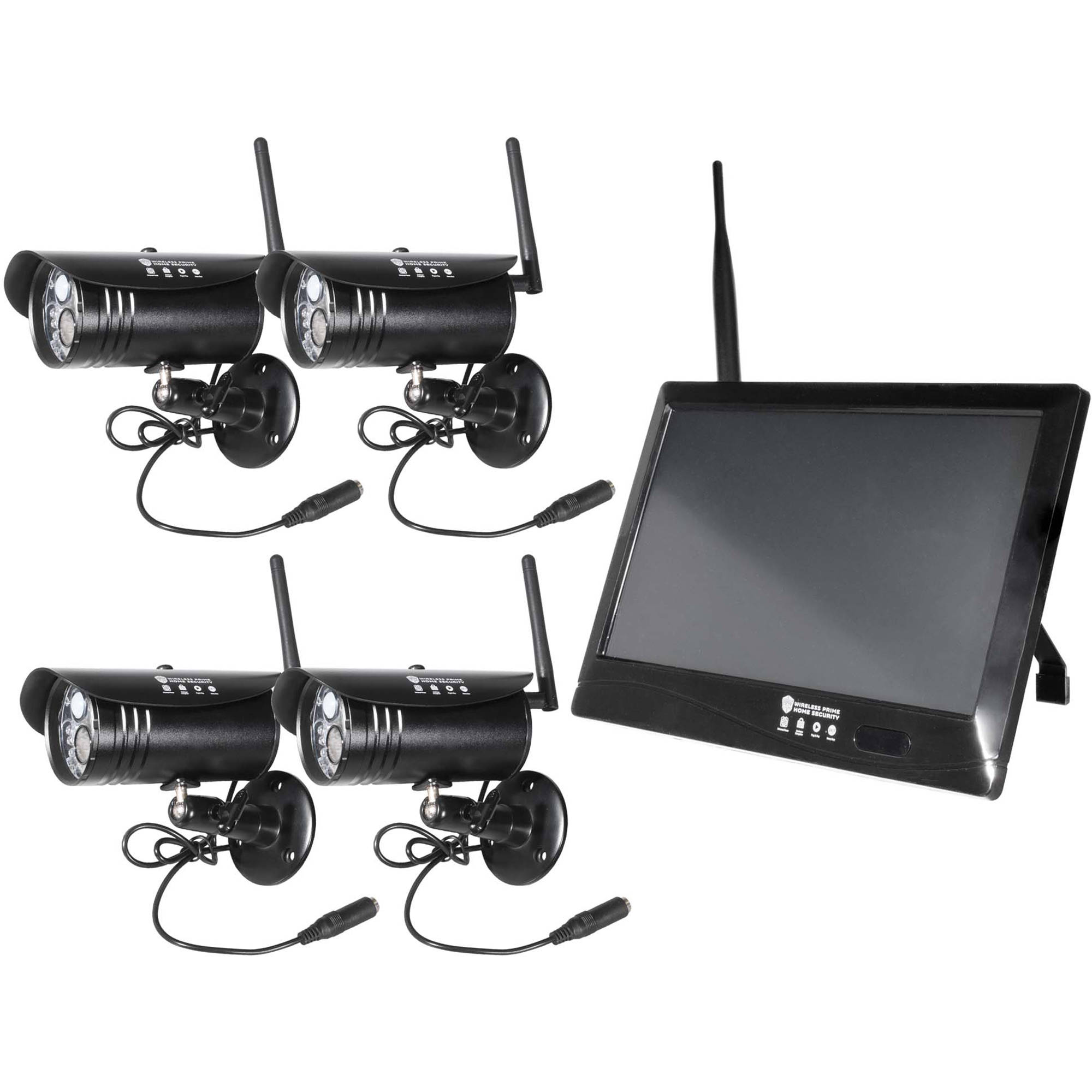 Wireless Prime 10 U0026quot  Touchscreen Dvr  U0026 4 1080p 5