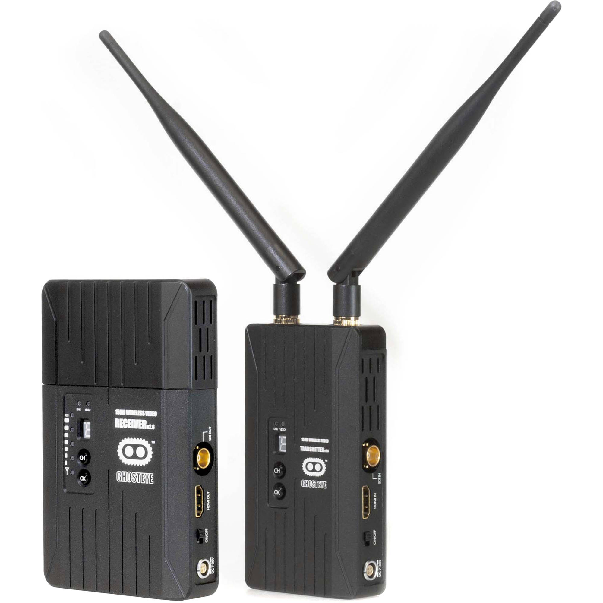 Cinegears Ghost Eye 150m V2 Wireless Hdmi 3g Sdi 6 151 Bh Photo And The Antenna Transmitter Two Points Are In One Line Transmission Kit 984