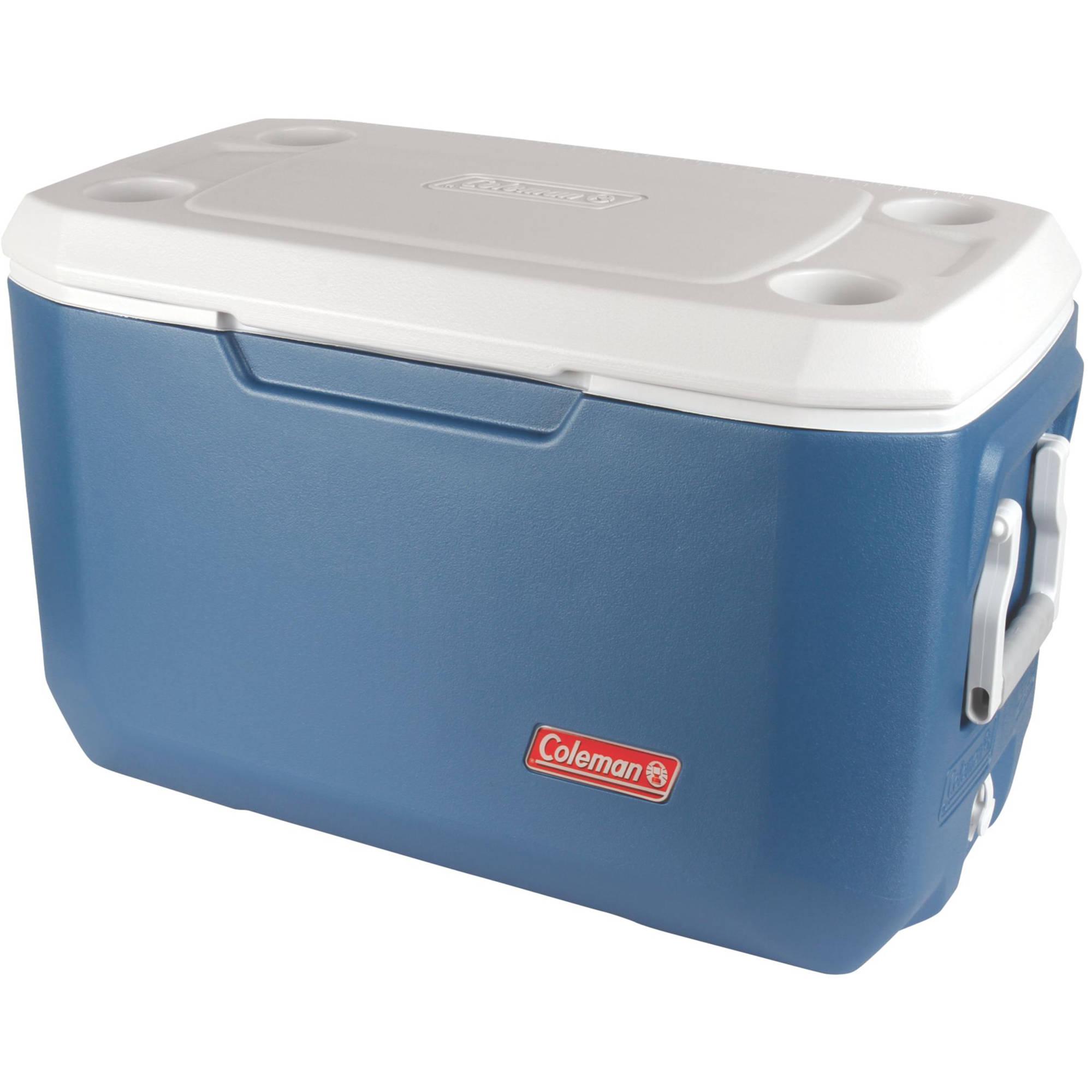Coleman Xtreme 5 Cooler : Coleman quart xtreme cooler blue white b h