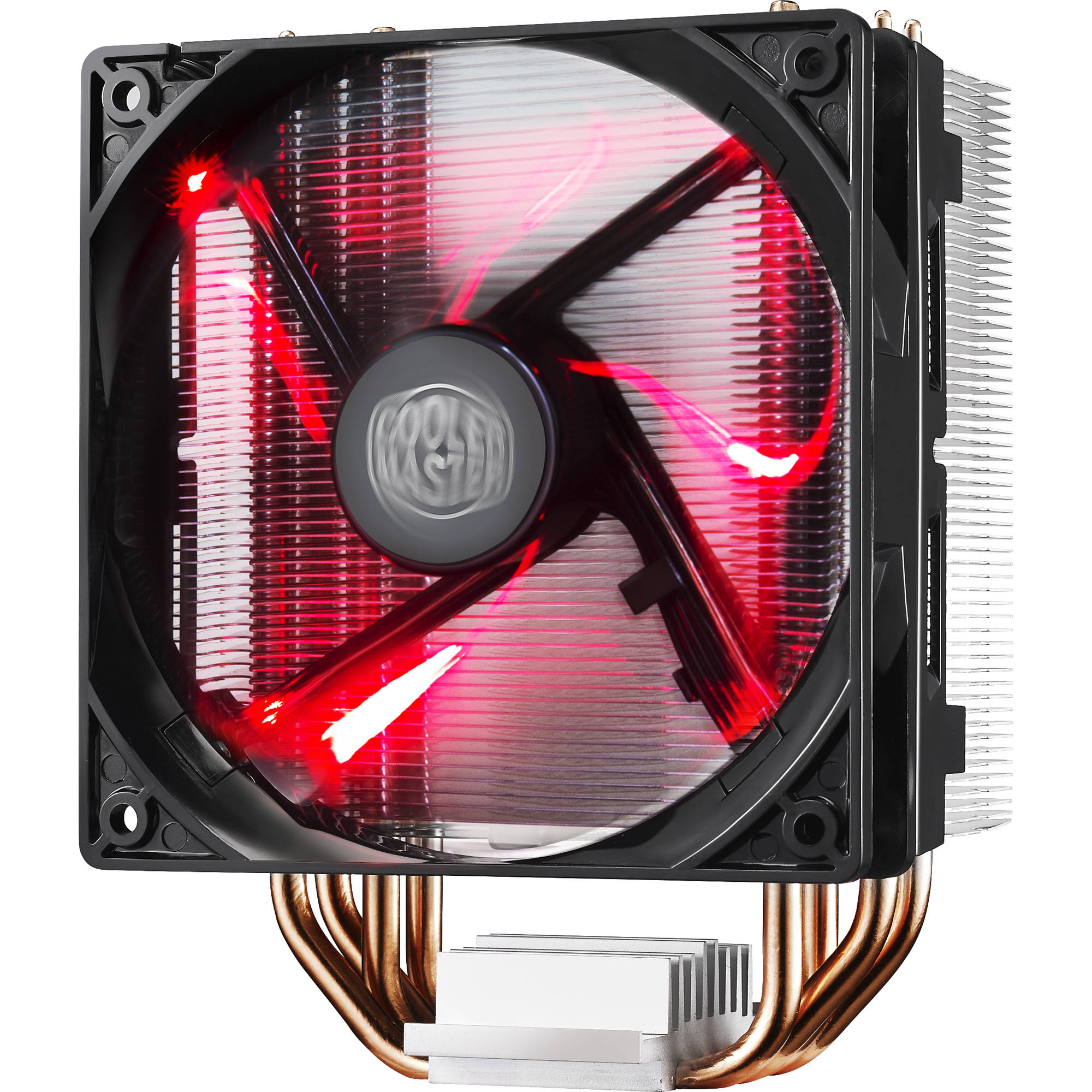 Processor Cooling Fan : Cooler master hyper led cpu red fan