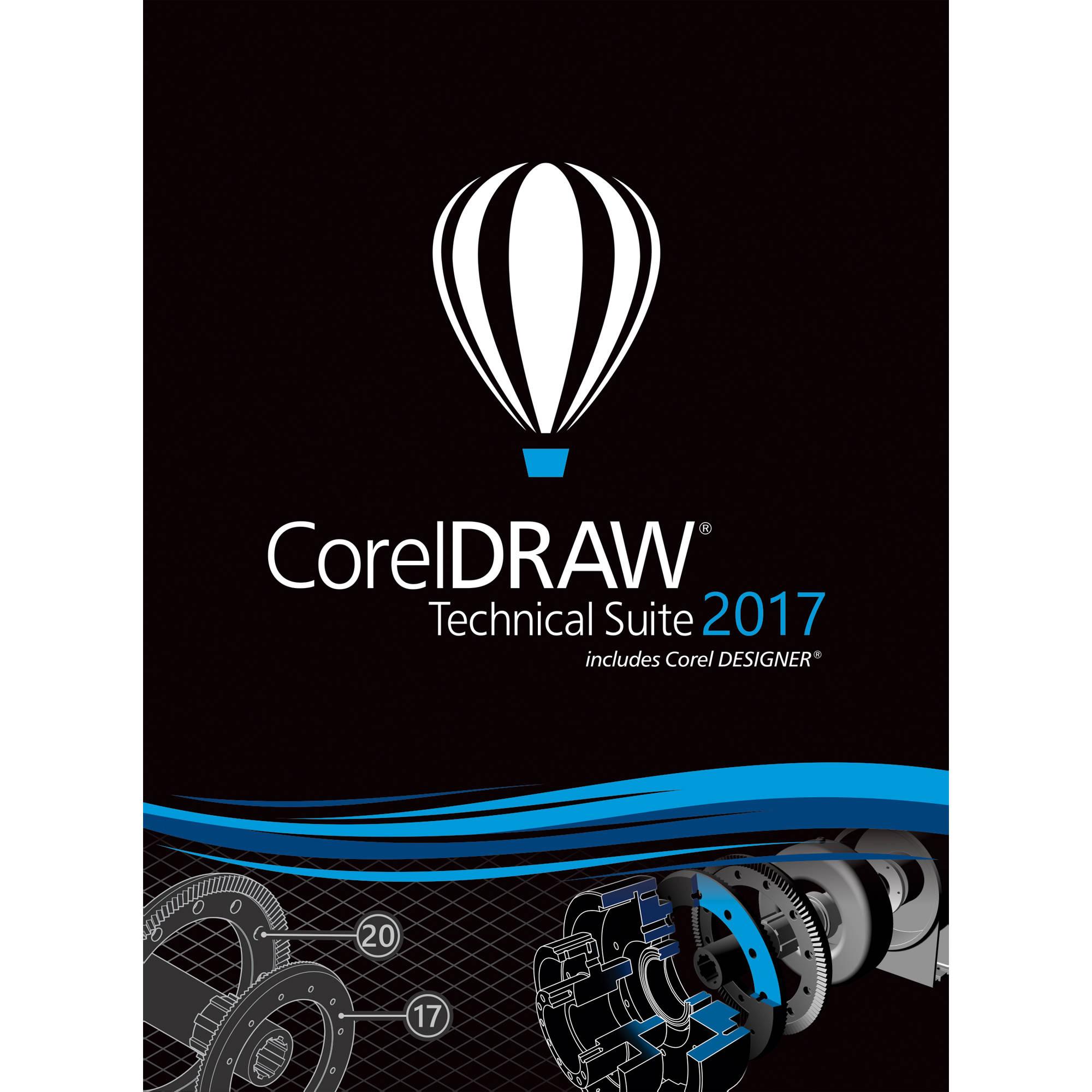 coreldraw technical suite 2017 offline installer