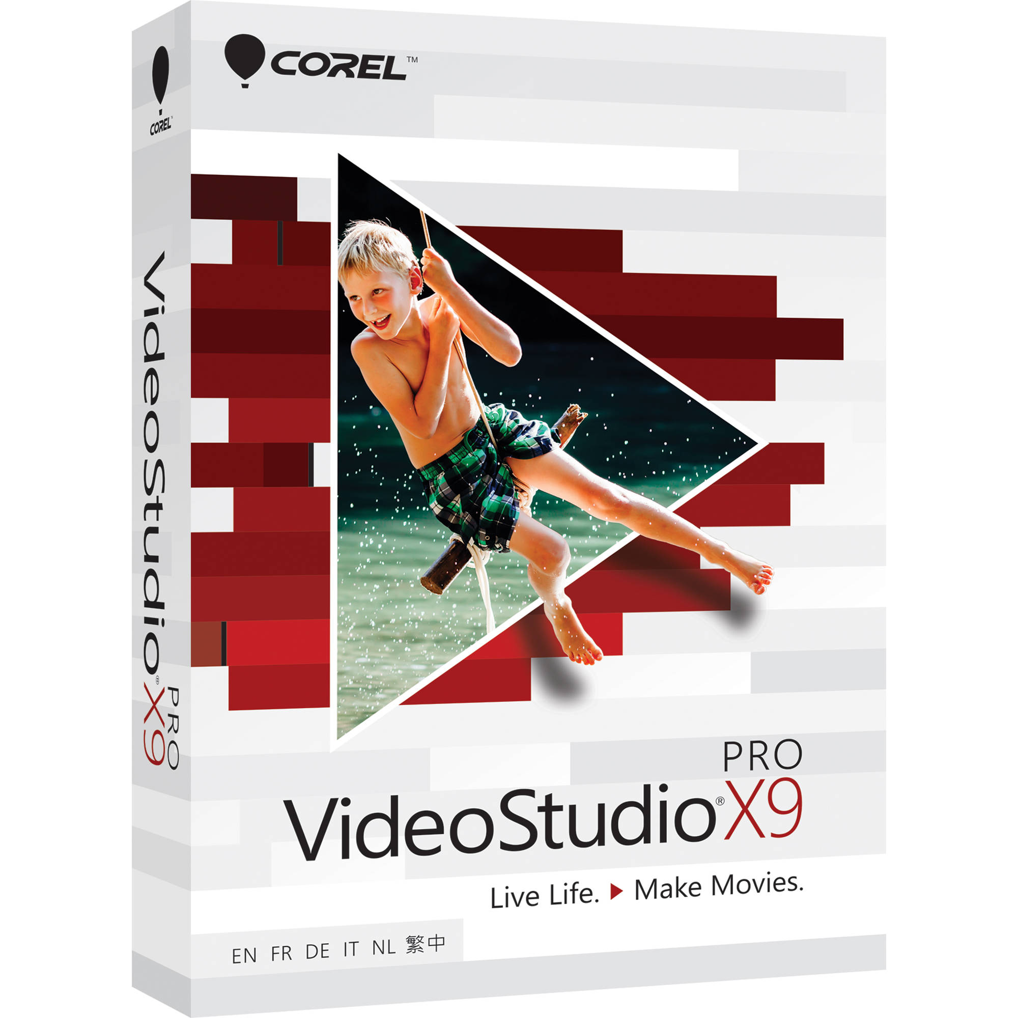 Corel VideoStudio Pro X9 (Boxed) VSPRX9MLMBAM B&H Photo Video