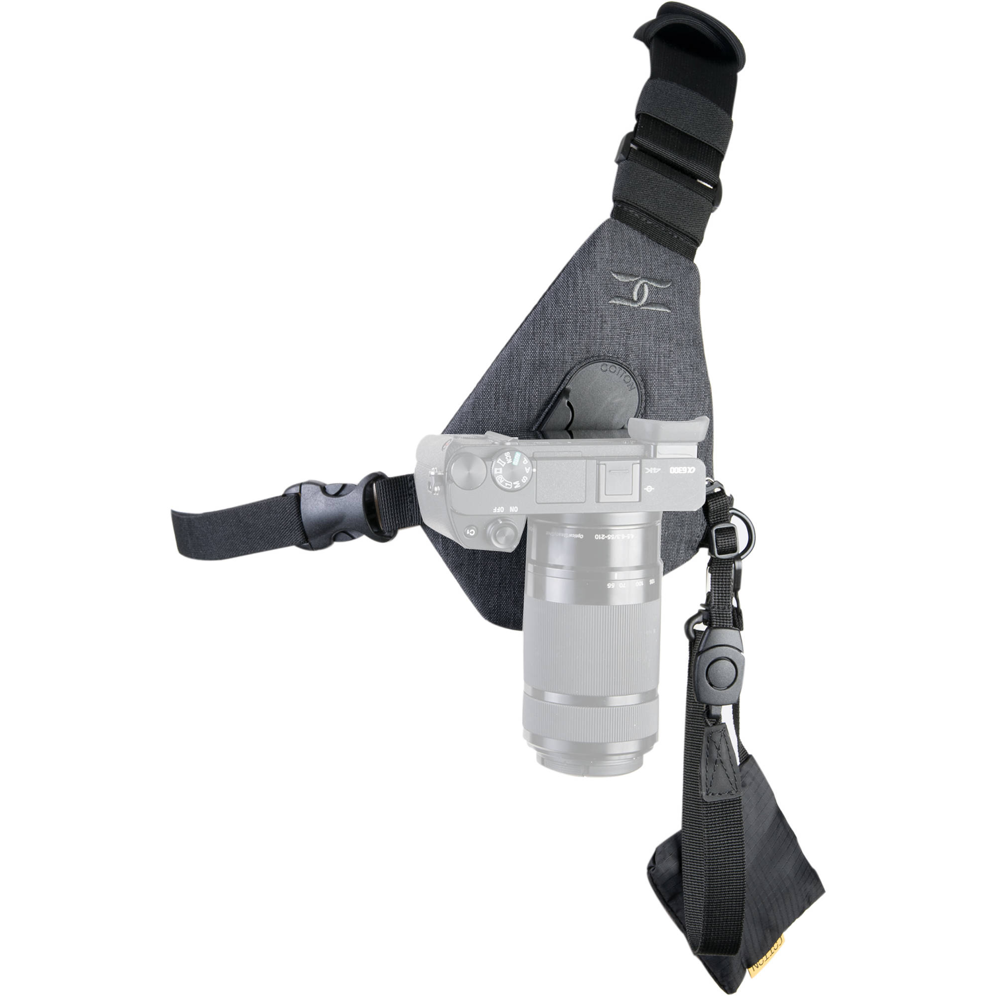 Cotton Carrier Skout Camera Sling Style Harness (Gray) 410GREY