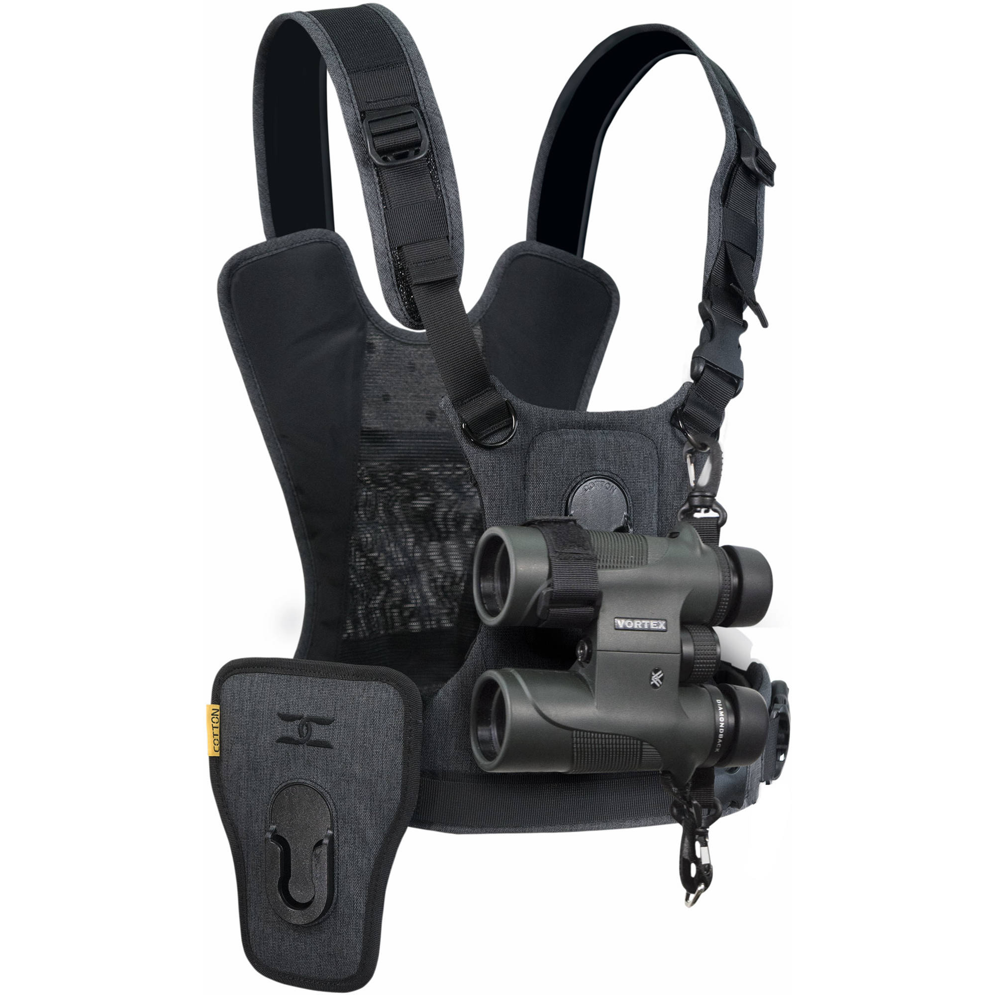 Cotton Carrier Ccs G3 Binocular And Camera Harness 944grey