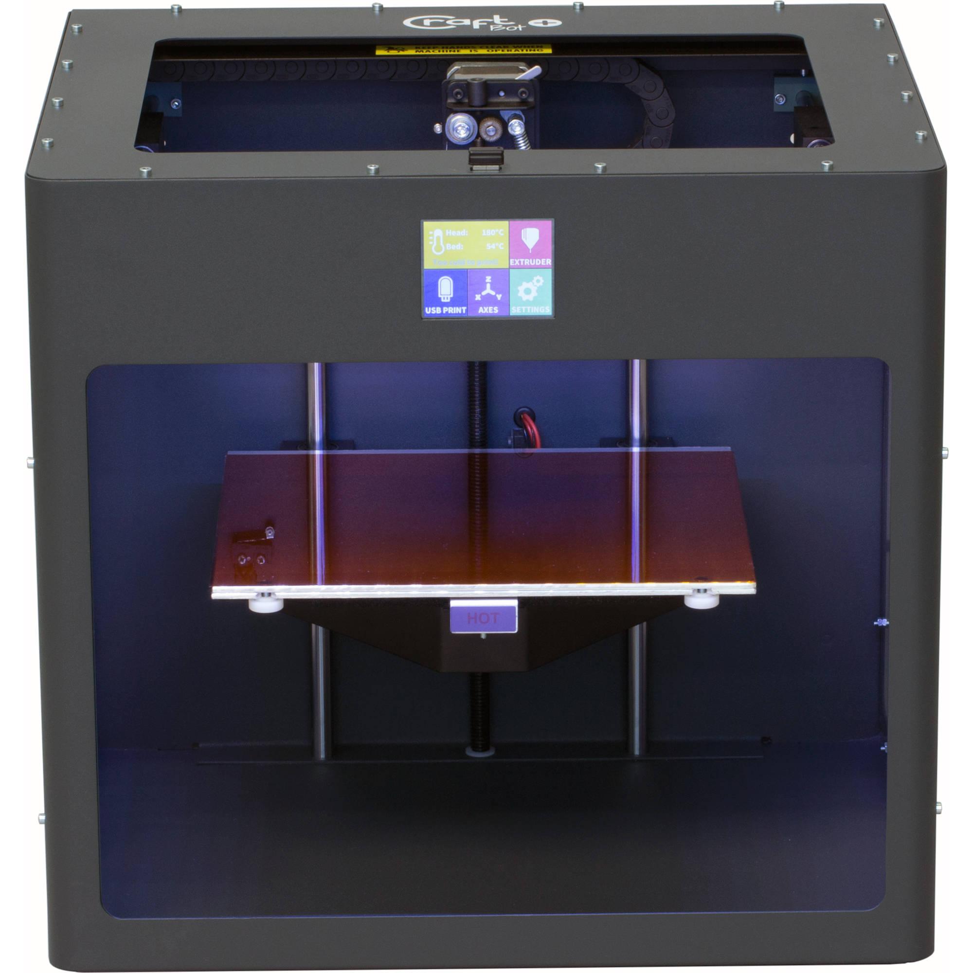 craftbot craftbot plus 3d printer anthracite gray pr 999 009