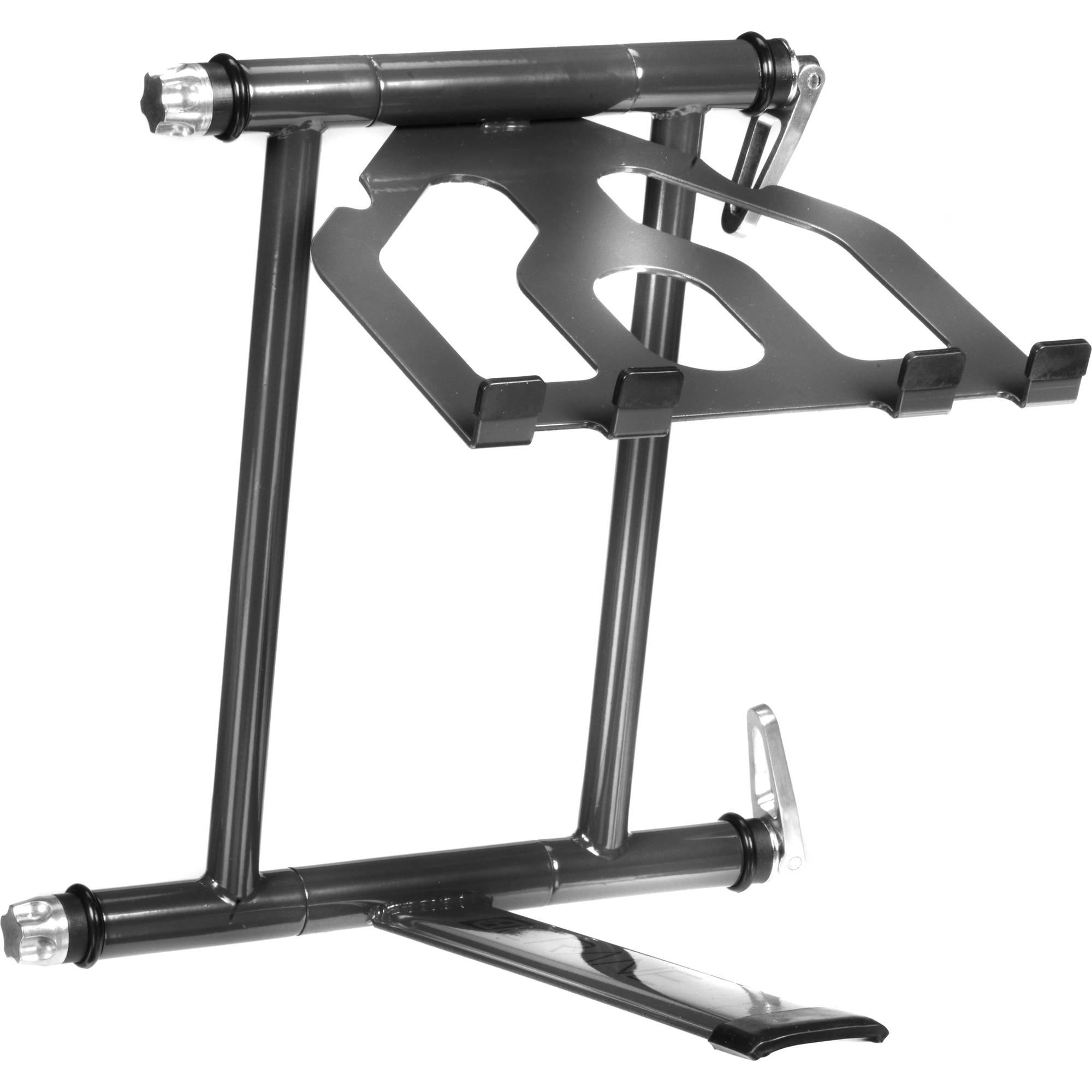 crane hardware crane stand plus folding laptop cv3 pls gry b h. Black Bedroom Furniture Sets. Home Design Ideas