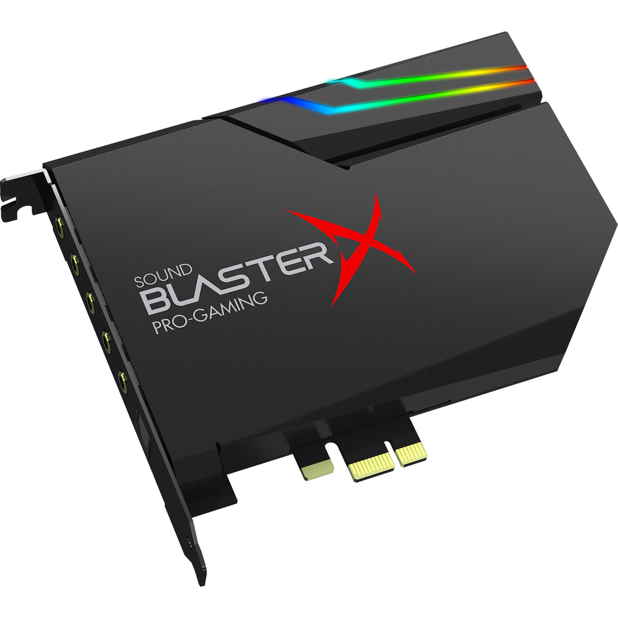 Creative Labs Sound BlasterX AE-5 Sound Card and DAC with RGB Aurora Lighting  sc 1 st  Bu0026H & Creative Labs Sound BlasterX AE-5 Sound Card and 70SB174000000 azcodes.com