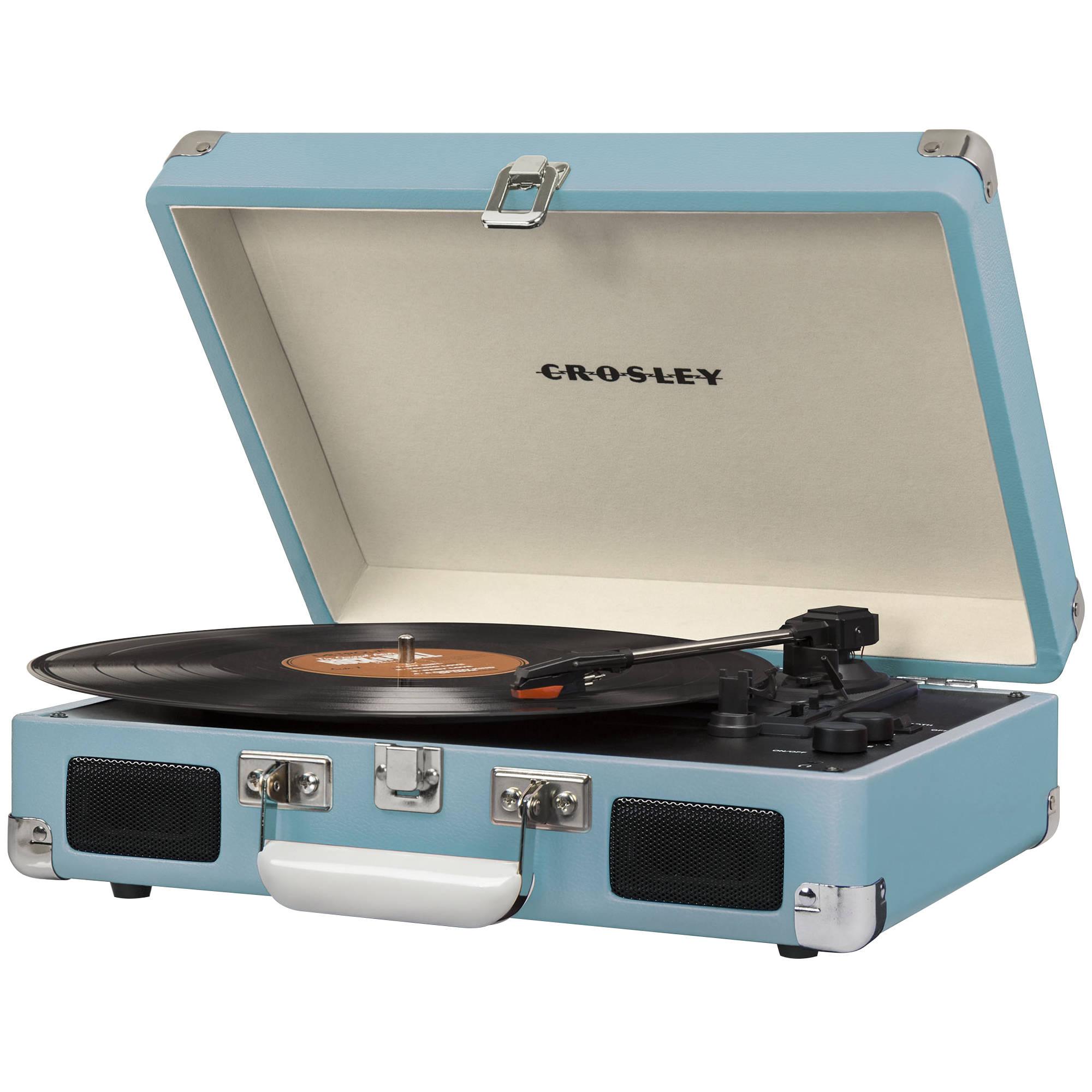 Crosley Radio Cruiser Deluxe Portable Turntable Cr8005d Tu B Amp H