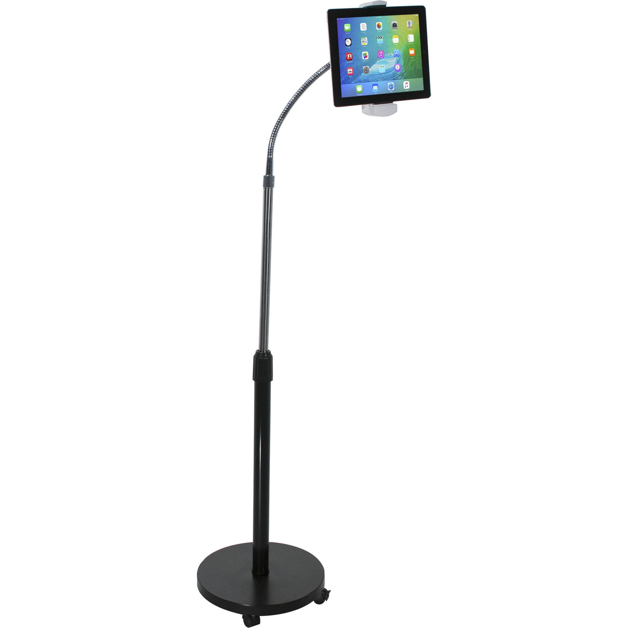 Cta digital gooseneck floor stand for tablets pad gfs bh photo tablet or ipad not included tyukafo