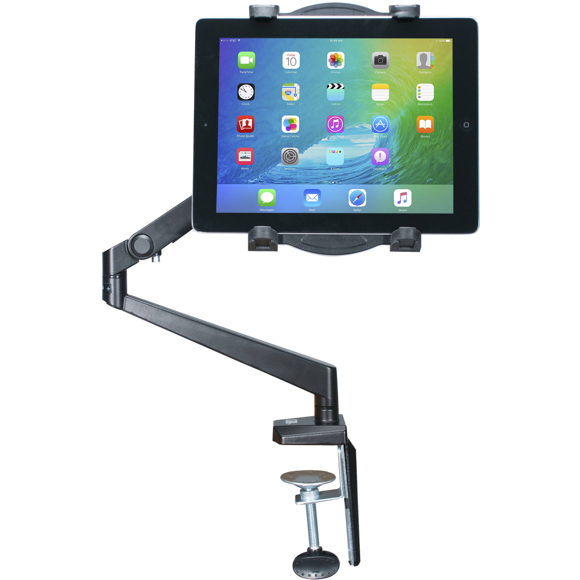 Cta Digital Tabletop Arm Mount For Tablets Pad Tam B Amp H Photo