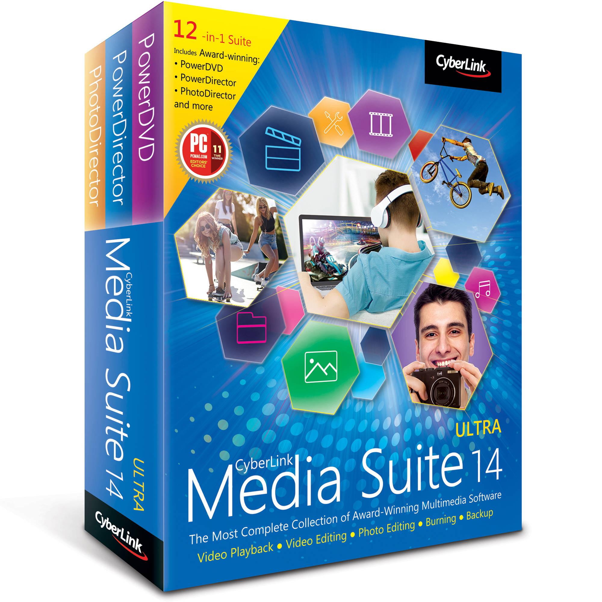 cyberlink media suite 8 free download