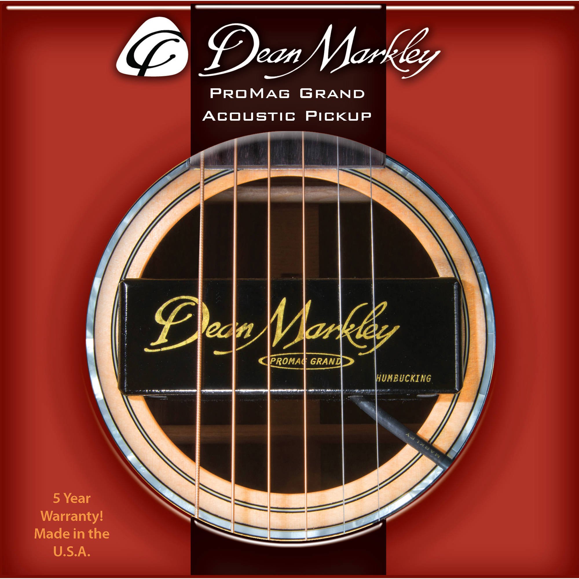 dean markley promag grand acoustic guitar pickup dm3015 b h. Black Bedroom Furniture Sets. Home Design Ideas