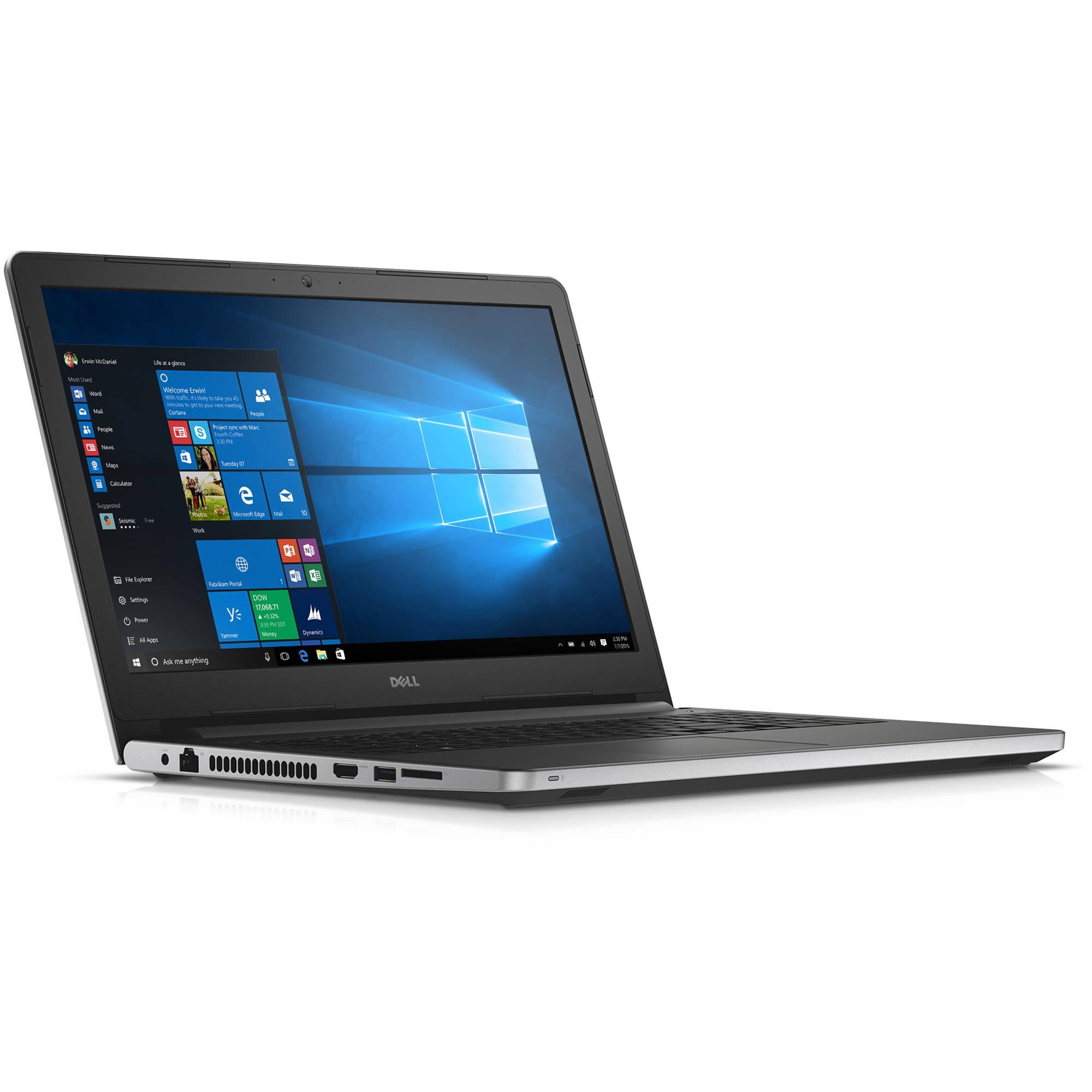 """Dell 15.6"""" Inspiron 15 5000 Series I5559-4415SLV B&H Photo"""