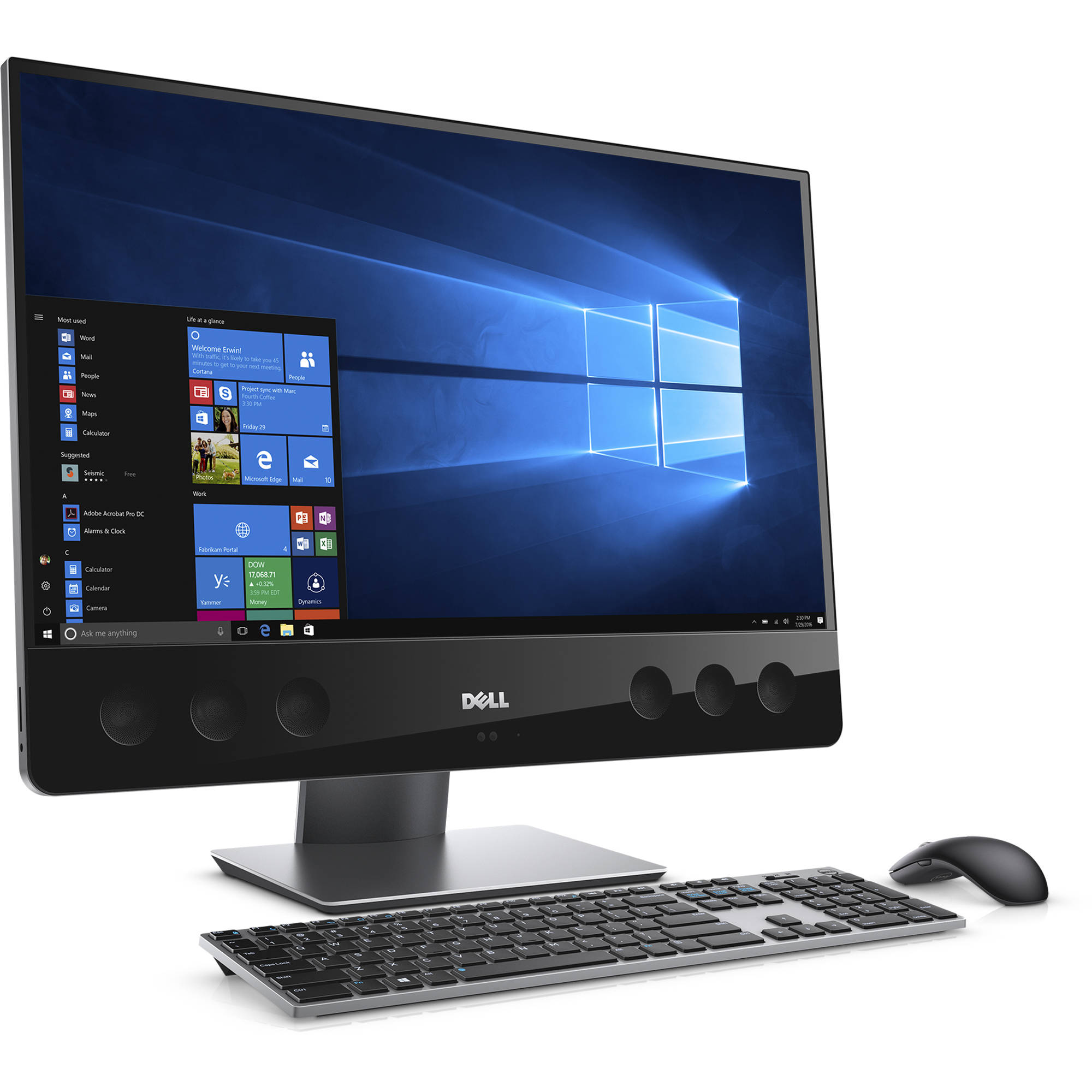 dell 27 xps 27 7760 multi touch all in one xps7760 7604blk. Black Bedroom Furniture Sets. Home Design Ideas