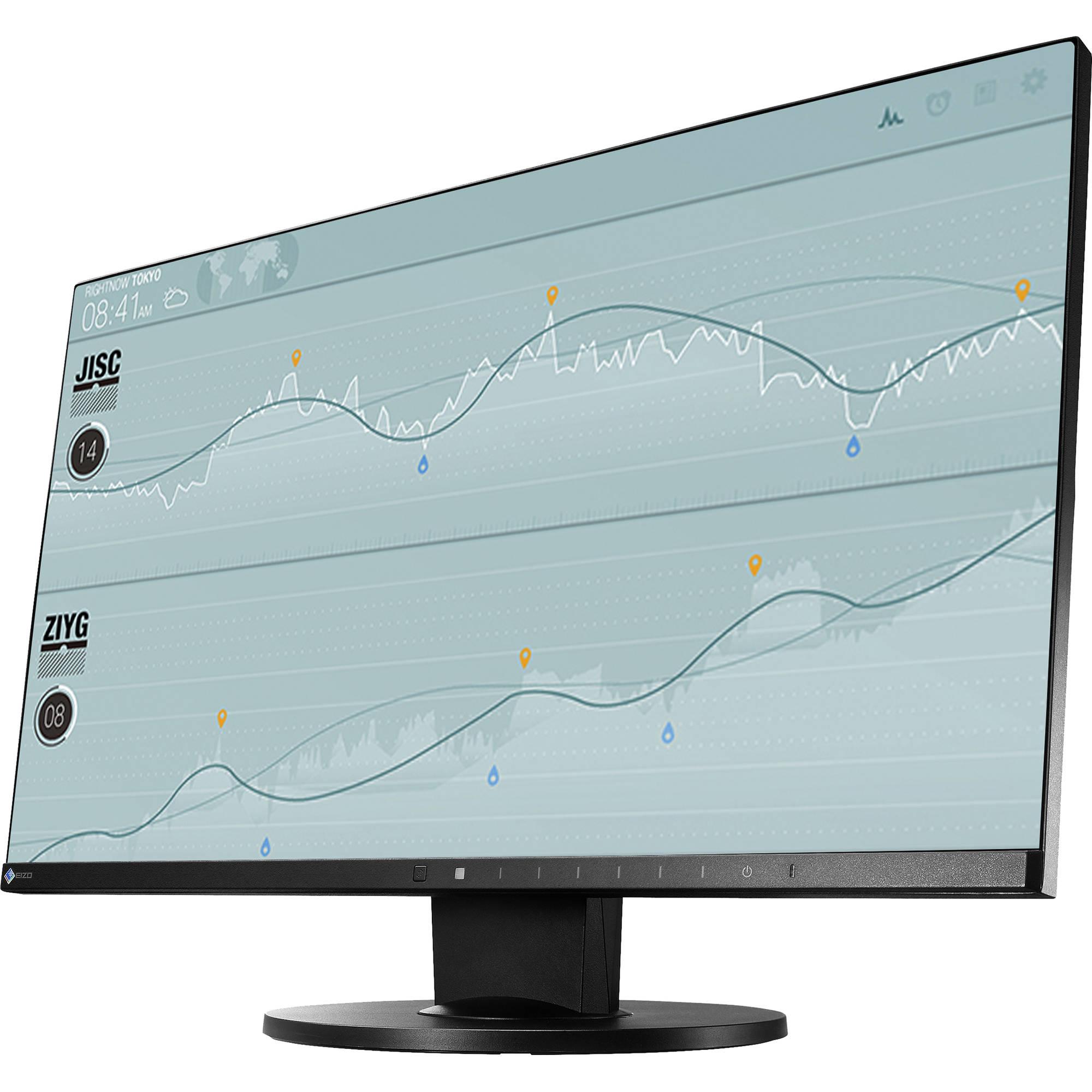 eizo flexscan ev2450 23 8 16 9 ips monitor ev2450fx bk b h. Black Bedroom Furniture Sets. Home Design Ideas