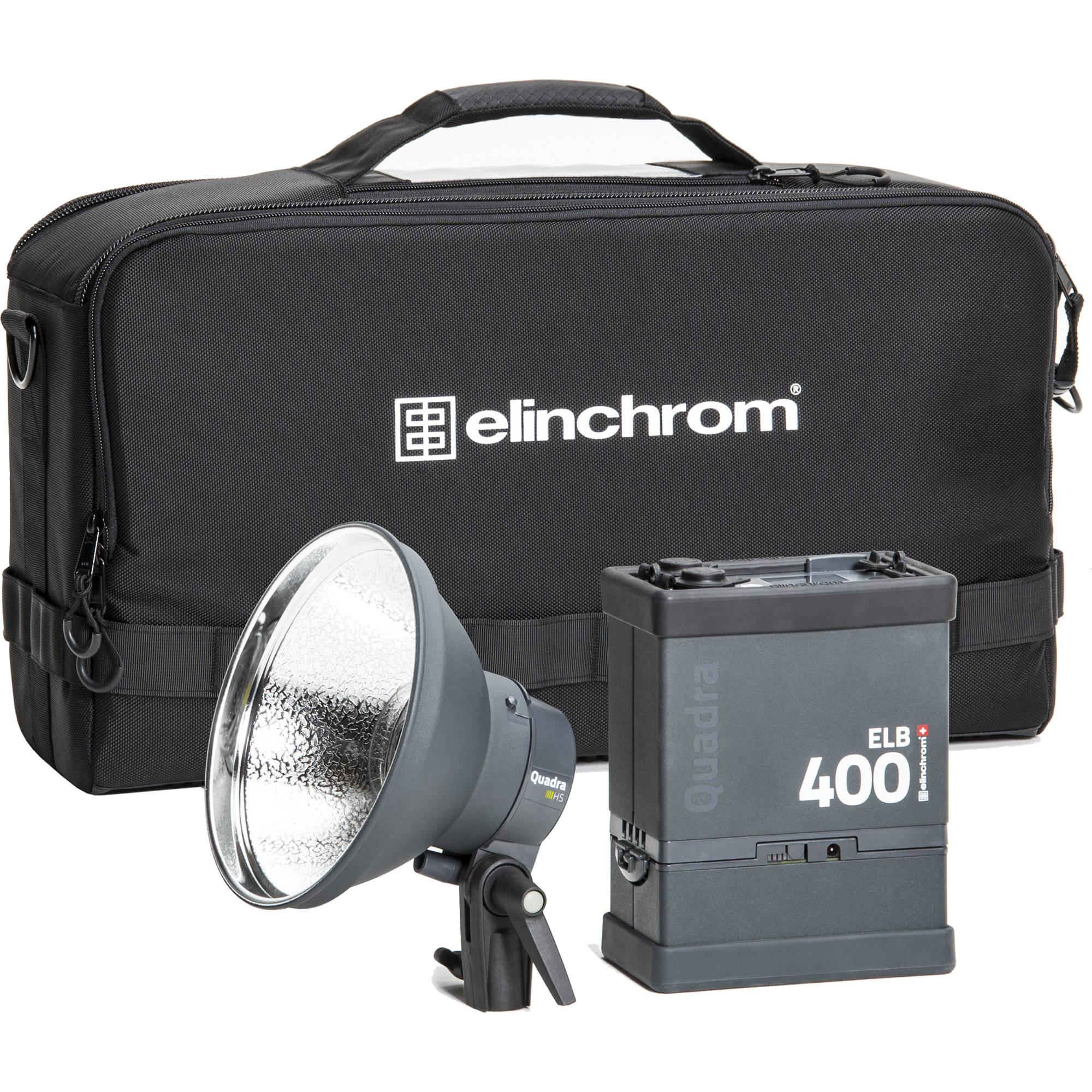 Elinchrom ELB 400 Hi-Sync To Go Kit  sc 1 st  Bu0026H & Battery-Powered Strobe Light Kits | Bu0026H Photo Video azcodes.com