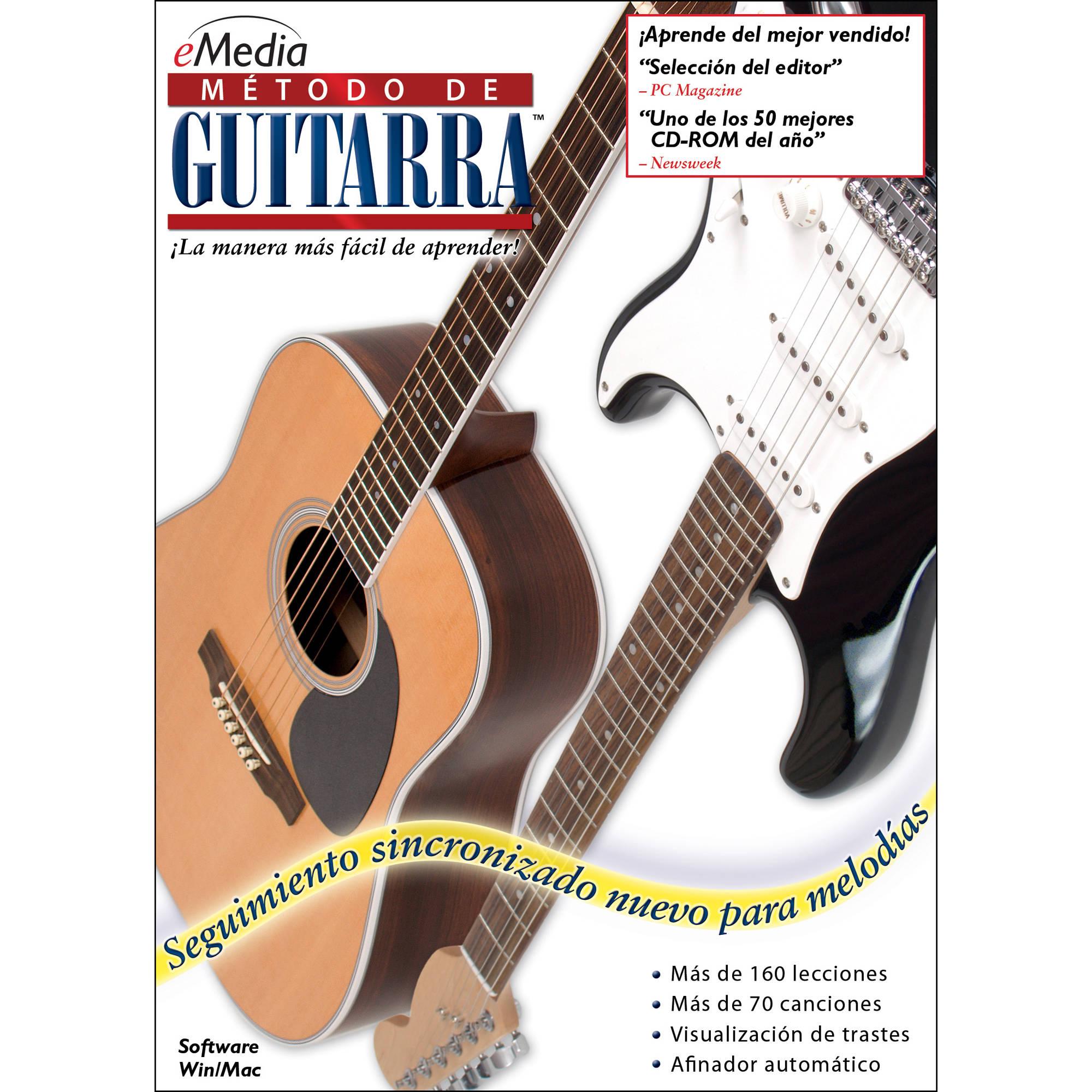Emedia Music Guitar Method V5 Spanish Guitar Eg03171dlm Bh