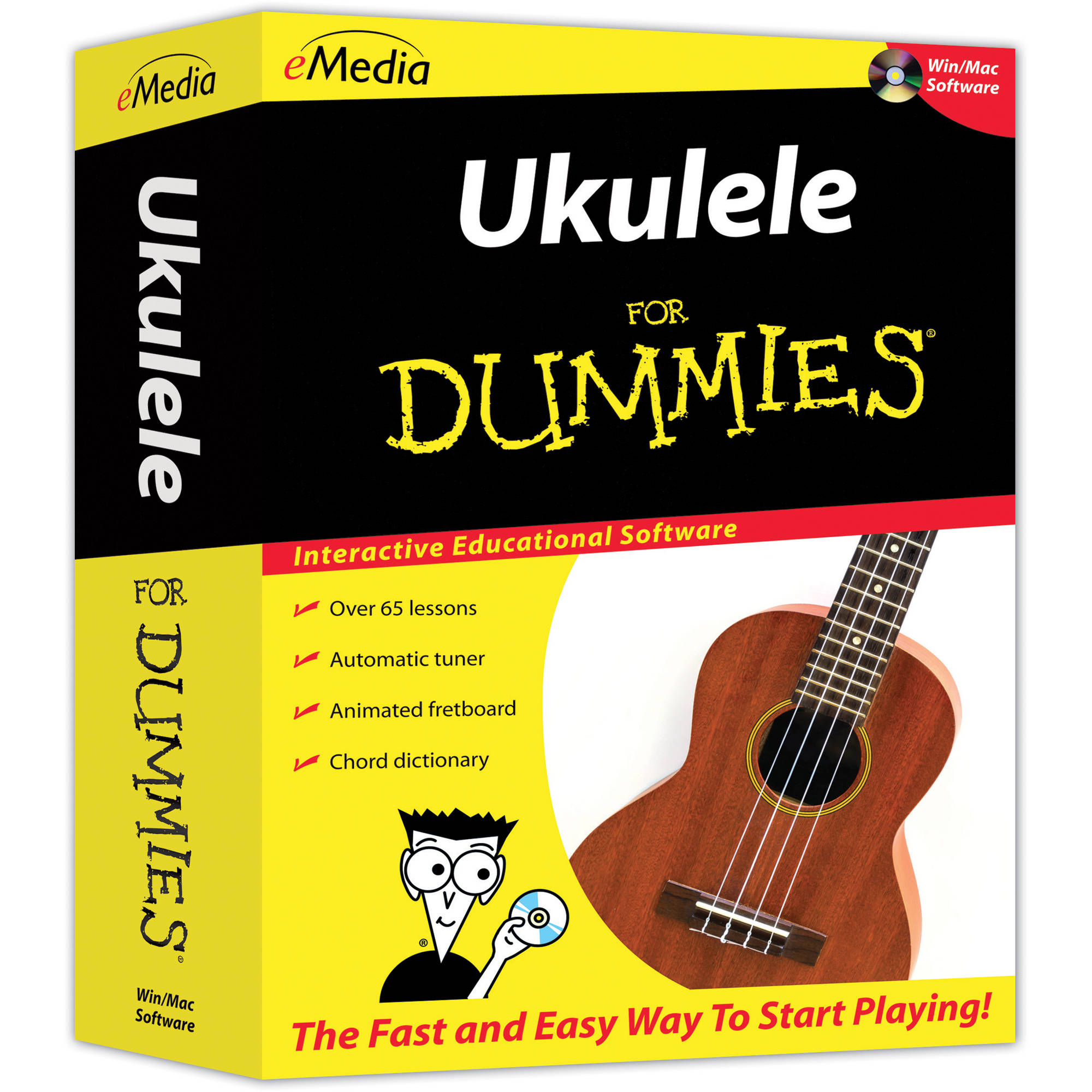 Emedia Music Ukulele For Dummies Fd10161dlm Bh Photo Video